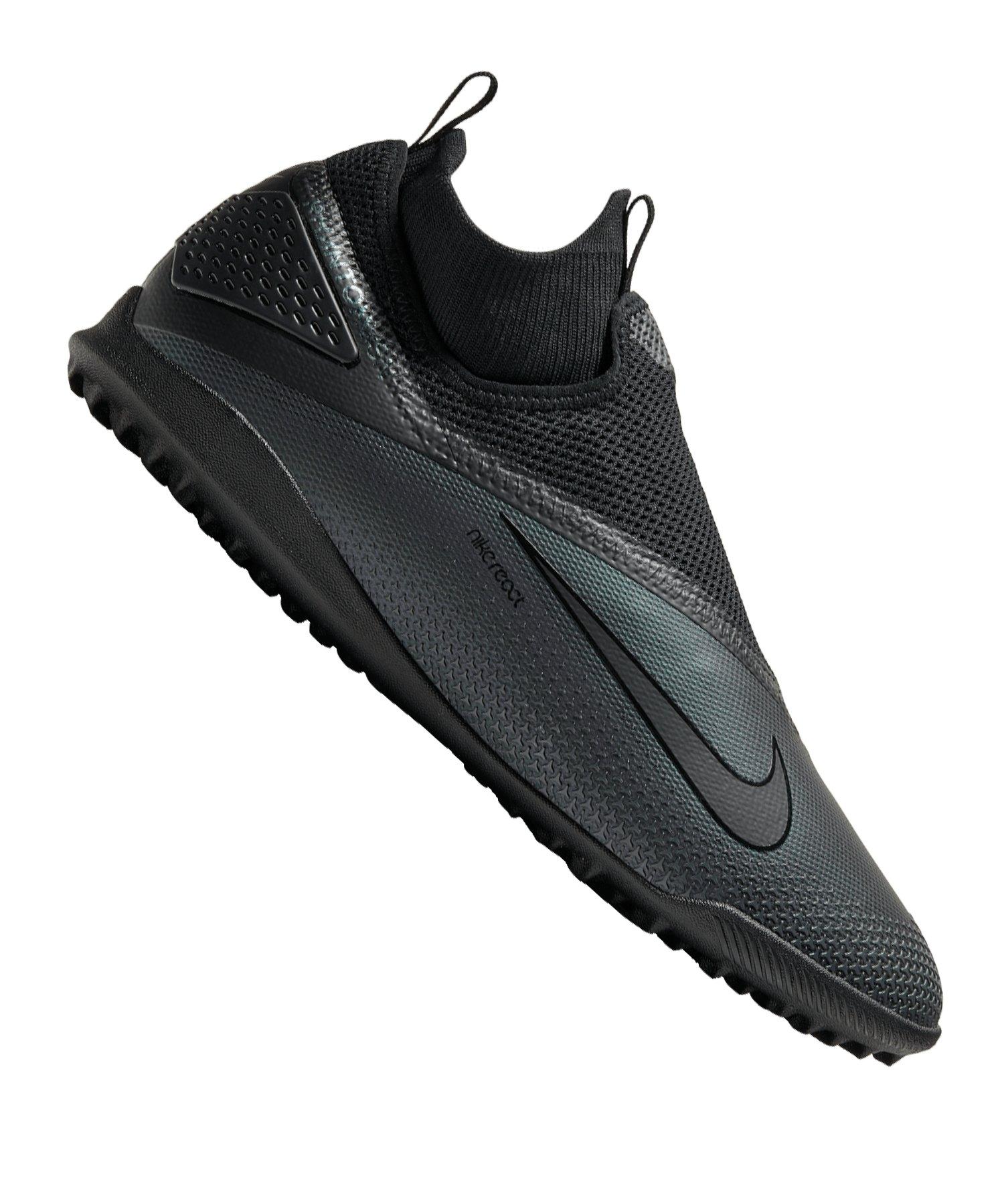 Nike Phantom React Vision II Kinetic Black Pro TF Schwarz F010 - schwarz