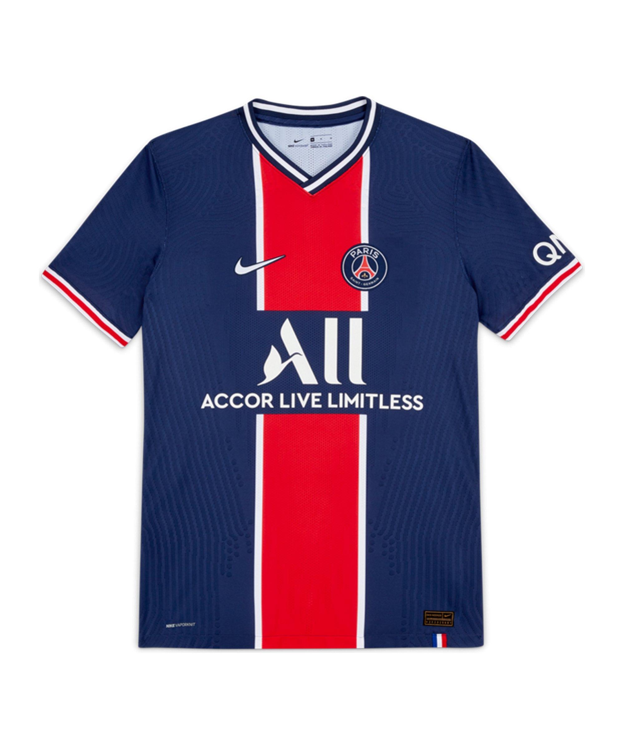 Nike Paris St. Germain Auth. Trikot Home 2020/2021 F411 - blau