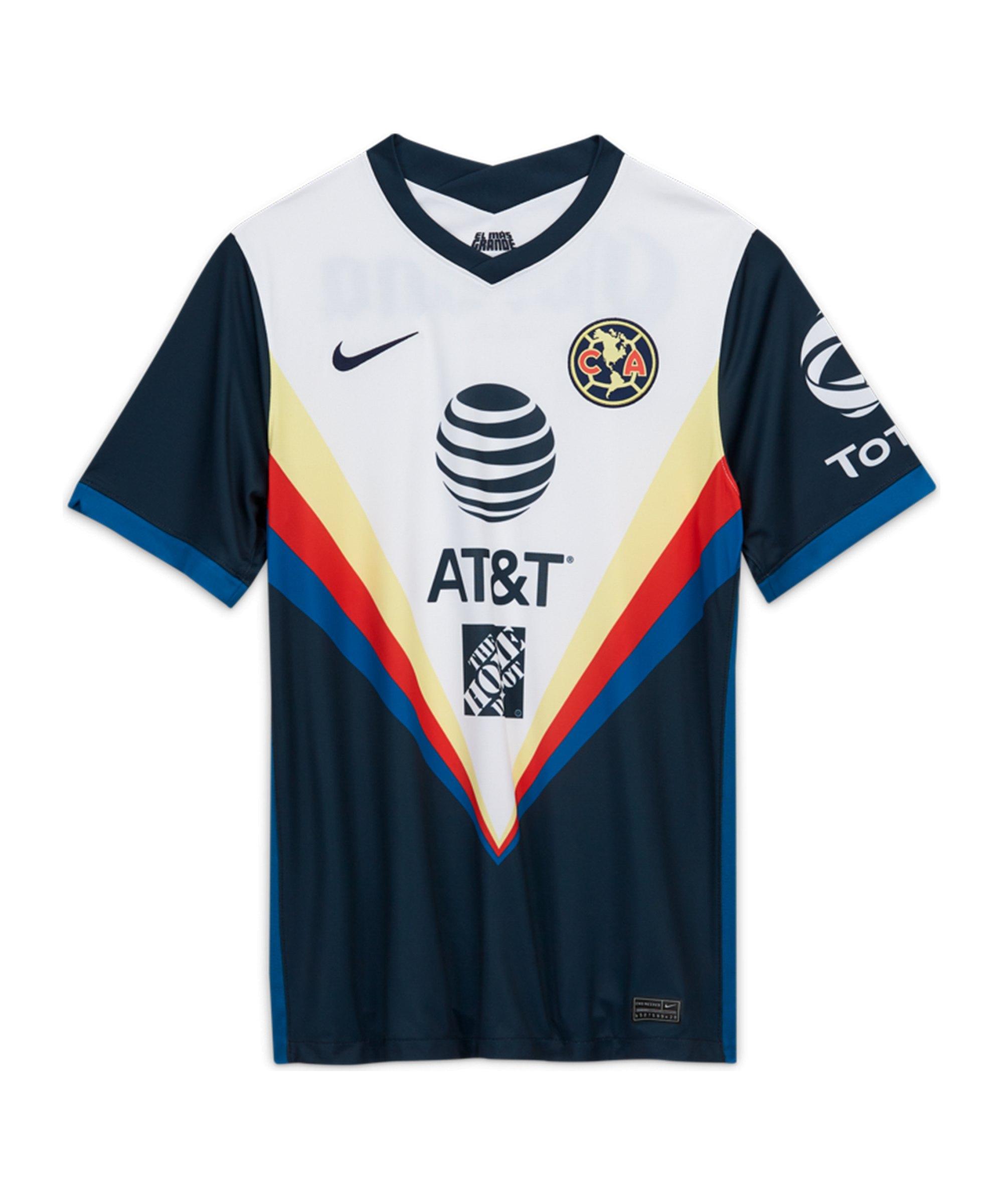 Nike Club America Trikot Away 2020/2021 F454 - blau