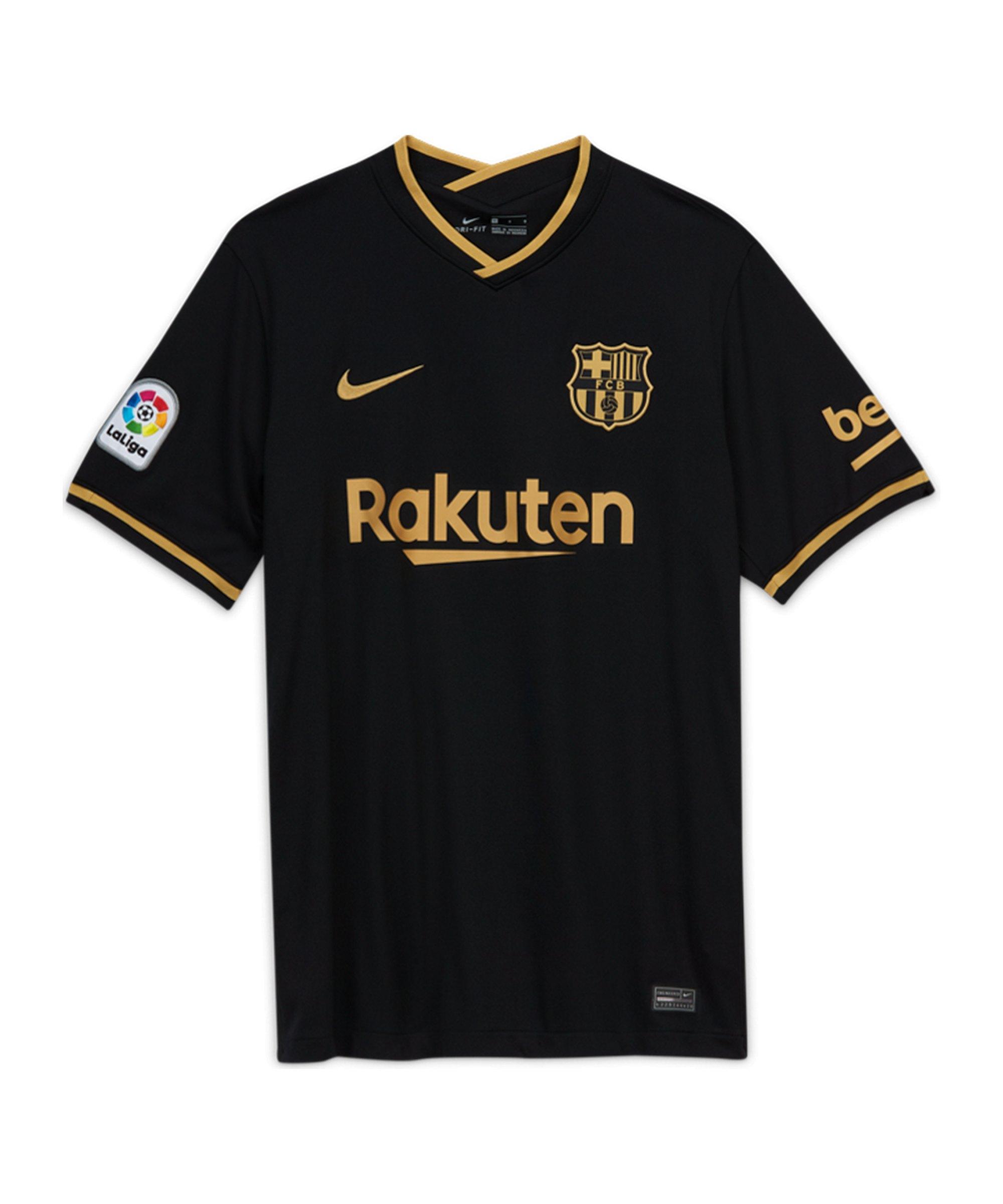 FC Barcelona Trikot Away 2020/2021 Schwarz F011 - schwarz