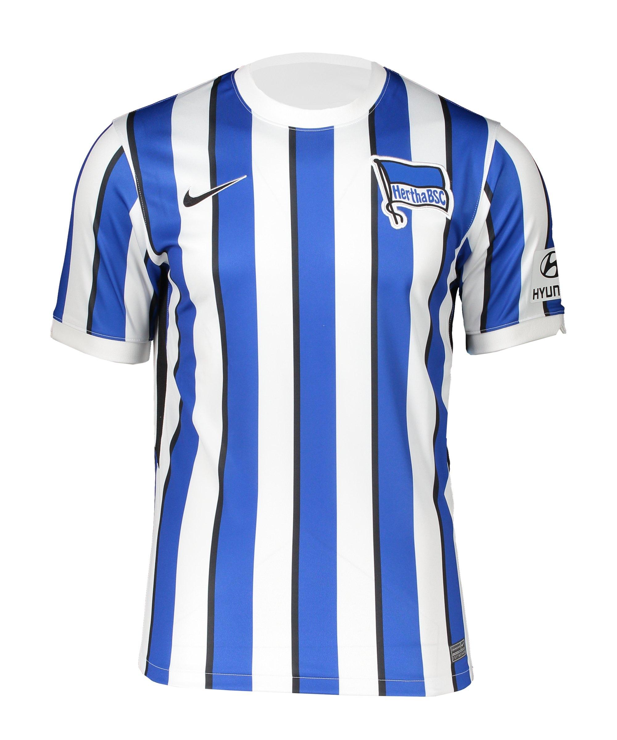Nike Hertha BSC Trikot Home 2020/2021 Weiss Blau F101 - weiss