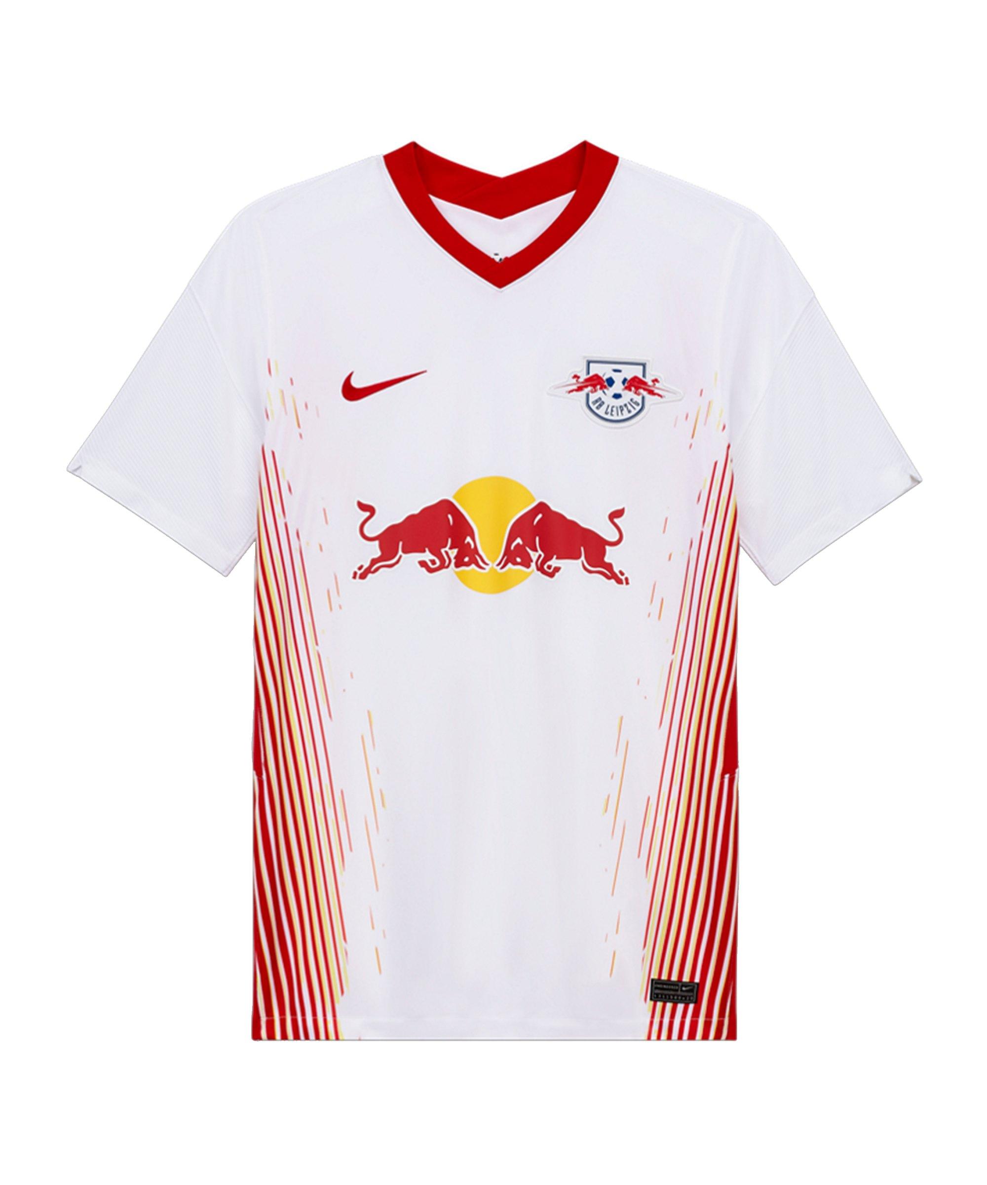 Nike RB Leipzig Trikot Home 2020/2021 Weiss F101 - weiss
