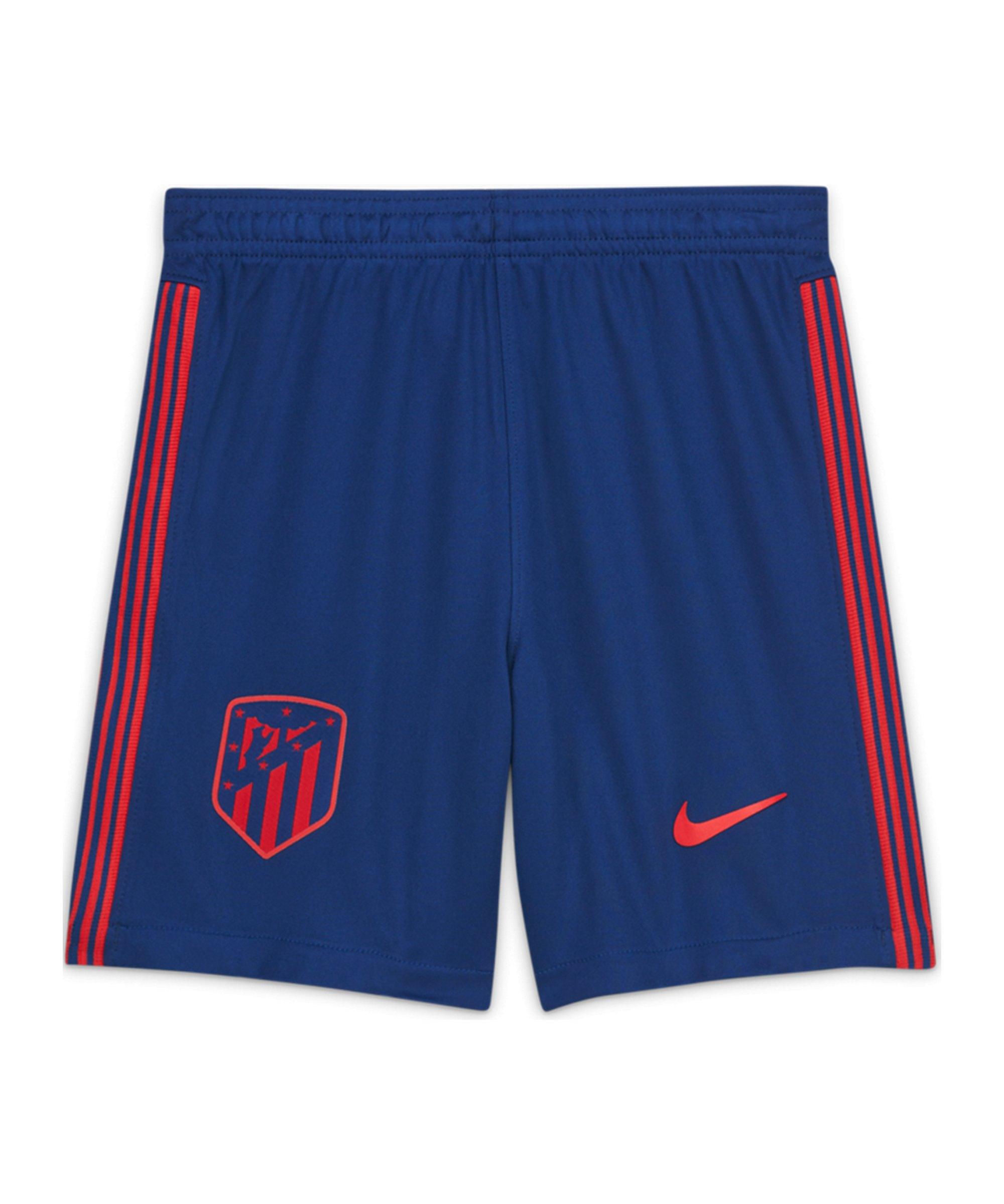 Nike Atletico Madrid Short Away 2020/2021 Blau F490 - blau