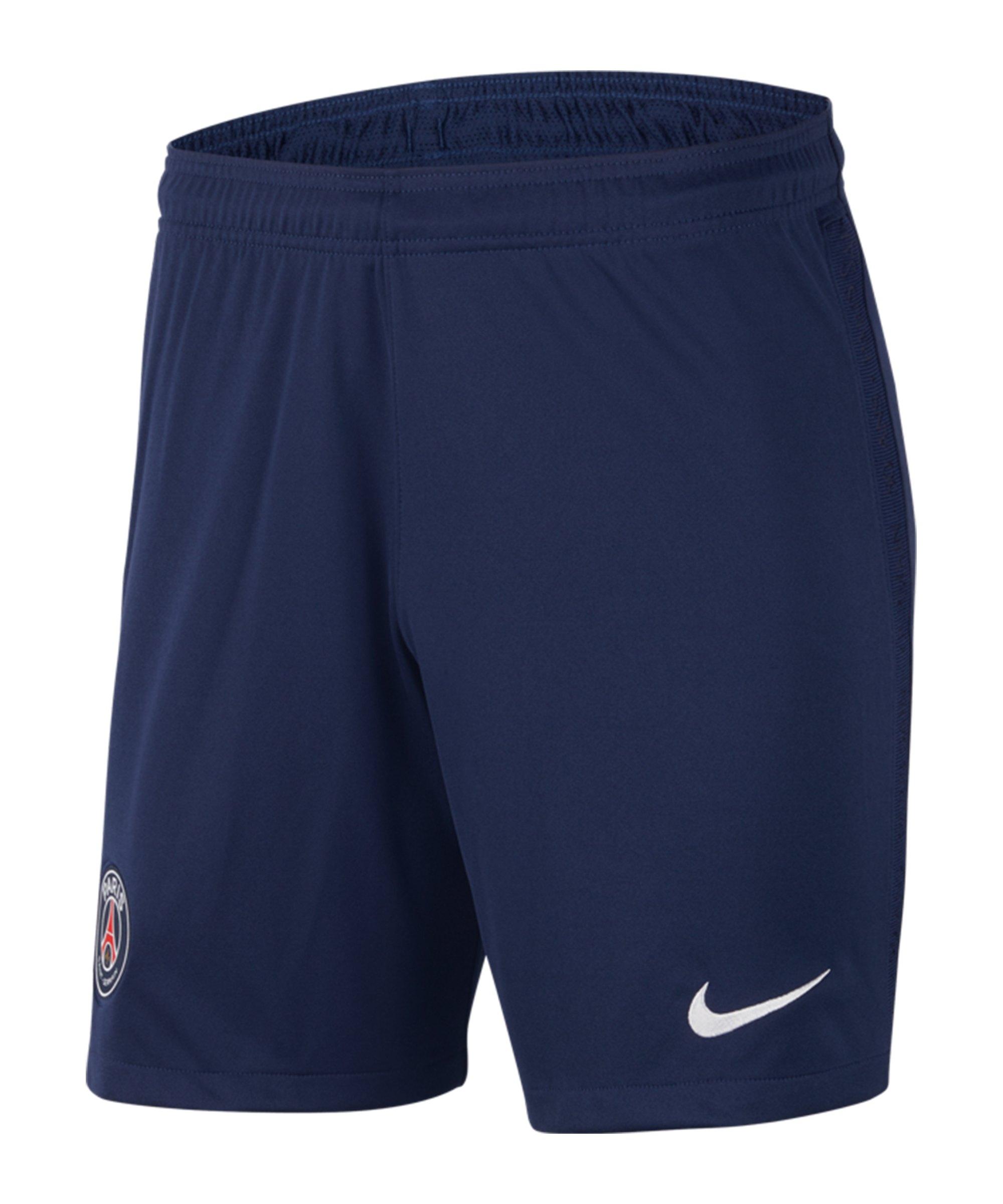 Nike Paris St. Germain Short Home 2020/2021 F410 - blau