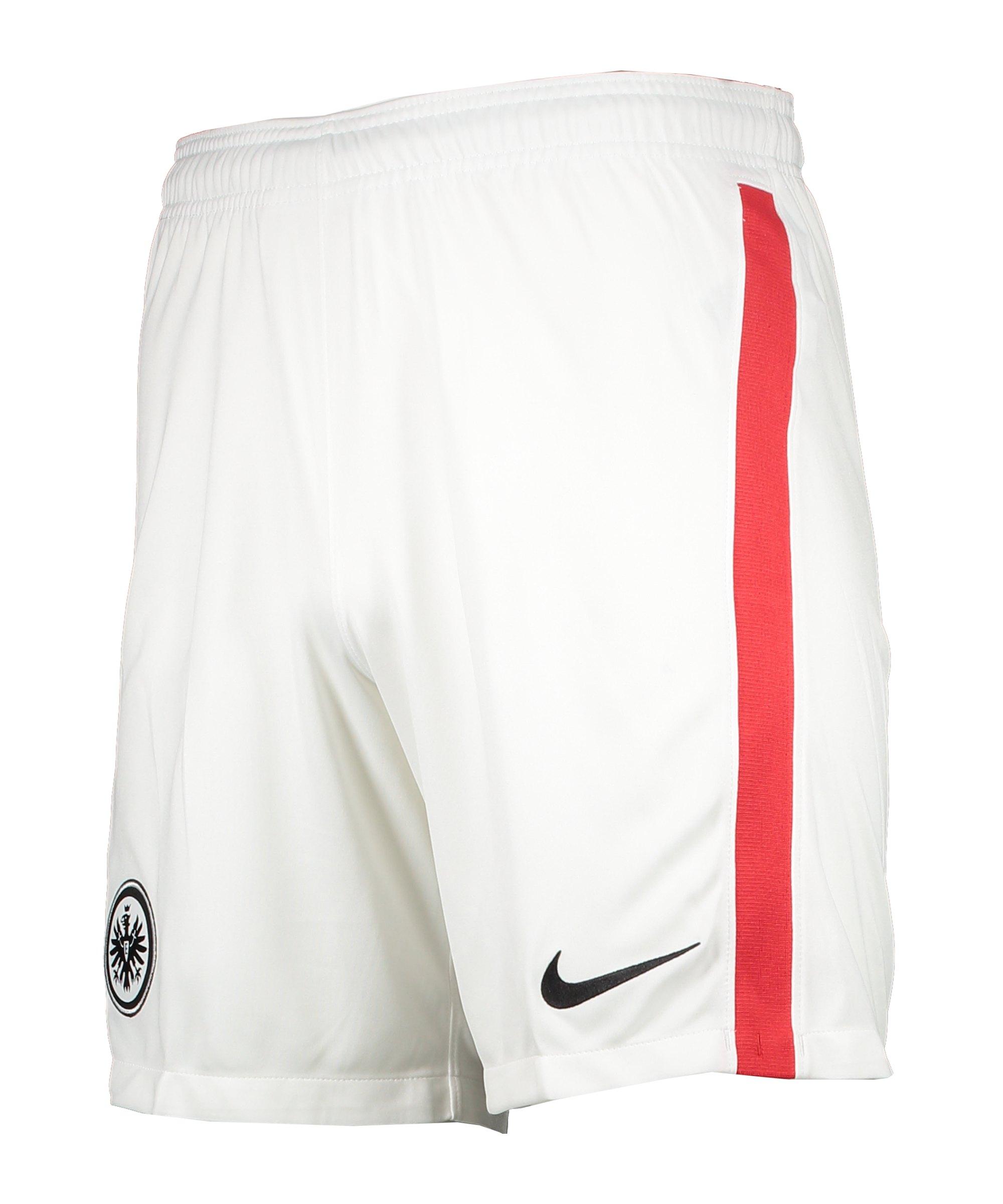 Nike Eintracht Frankfurt Short Away 2020/2021 Weiss F100 - weiss