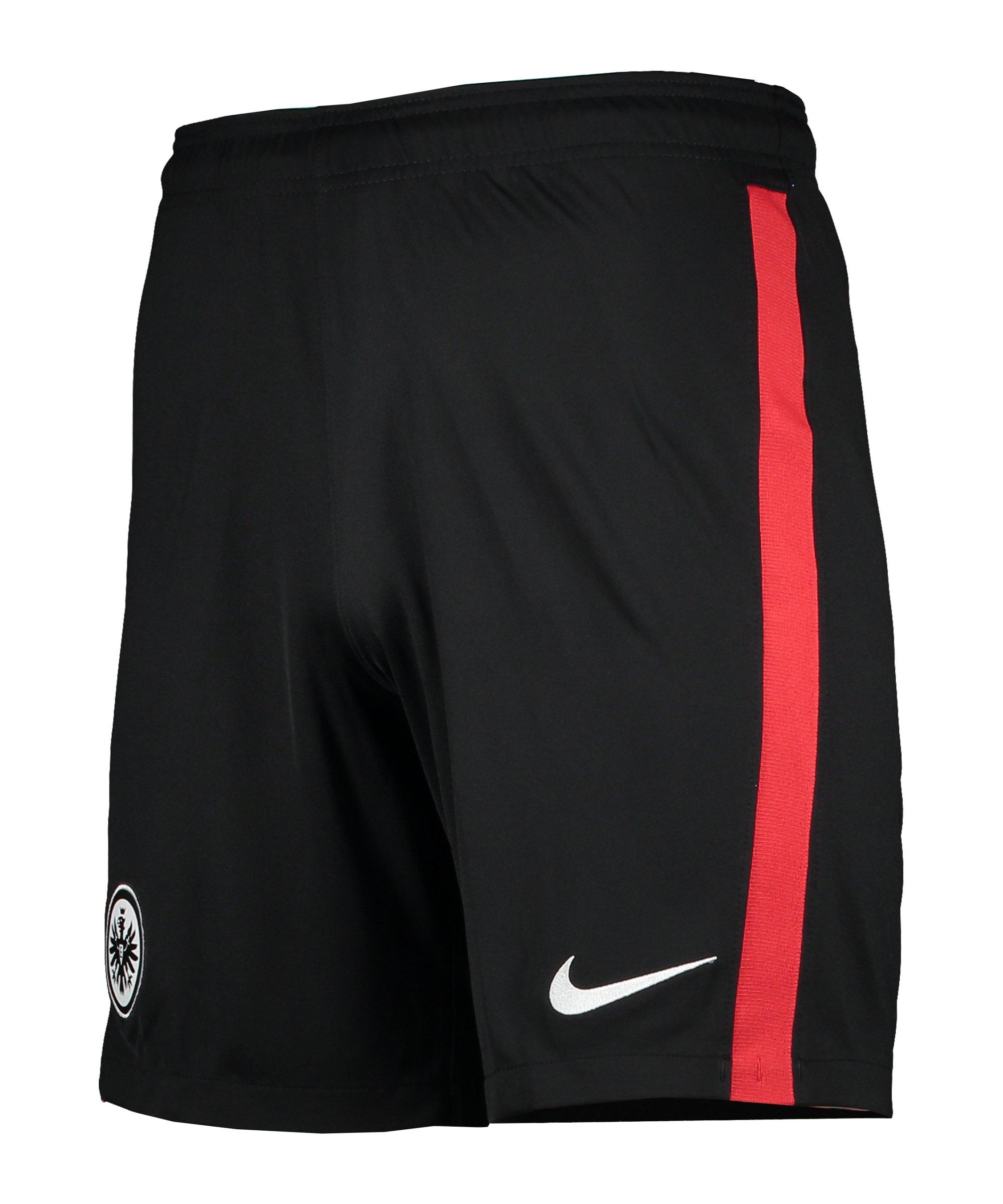 Nike Eintracht Frankfurt Short Home 2020/2021 Schwarz F010 - schwarz