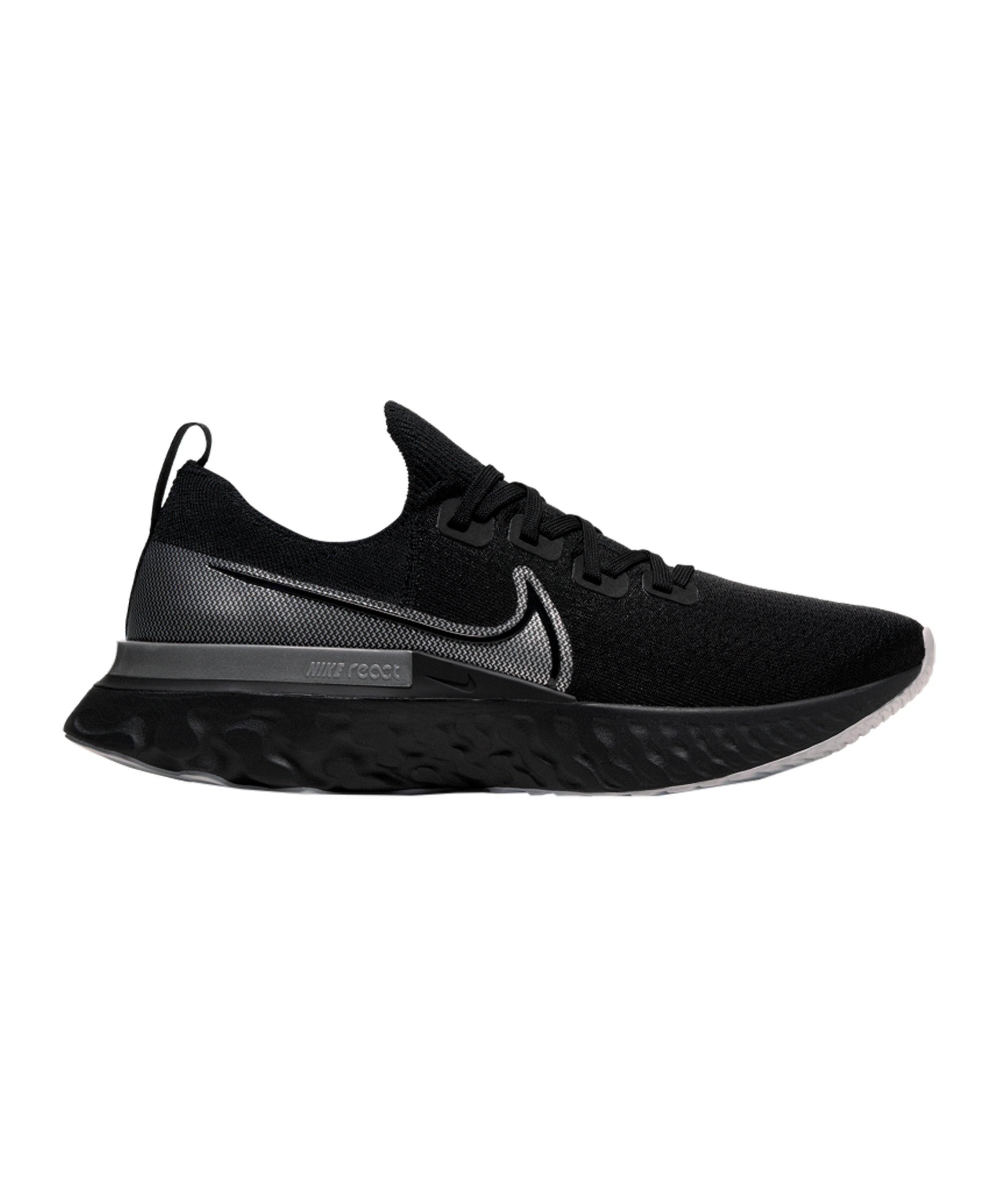 Nike Epic Pro React Flyknit Running Schwarz F001 - schwarz