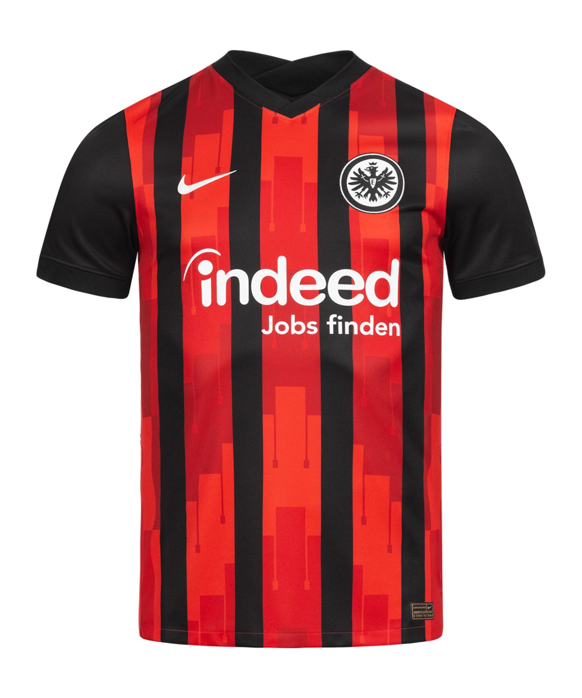 Nike Eintracht Frankfurt Trikot Home 2020/2021 Damen Schwarz F011 - schwarz