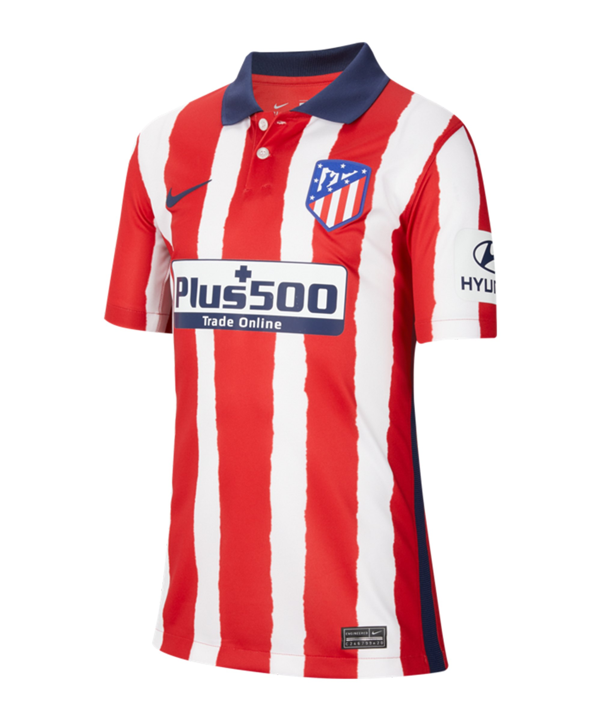 Nike Atletico Madrid Trikot Home 2020/2021 Kids F612 - rot