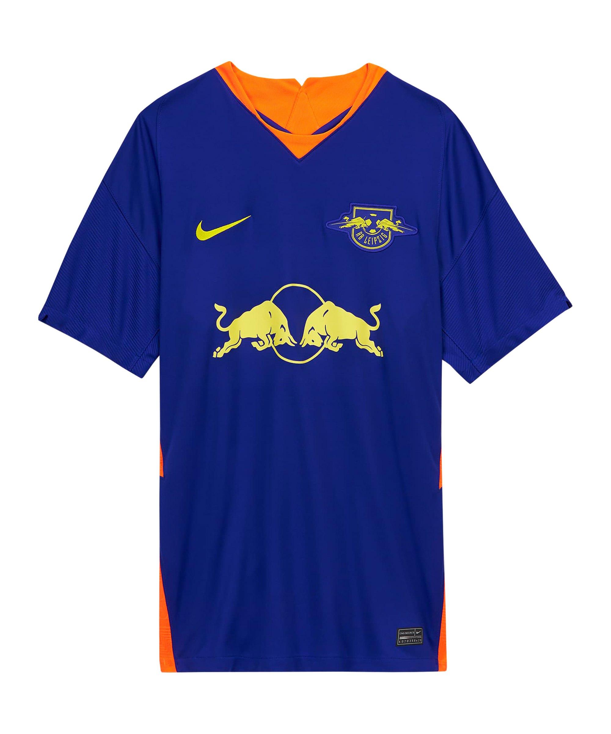 Nike RB Leipzig Trikot Away 2020/2021 Kids Blau F412 - blau