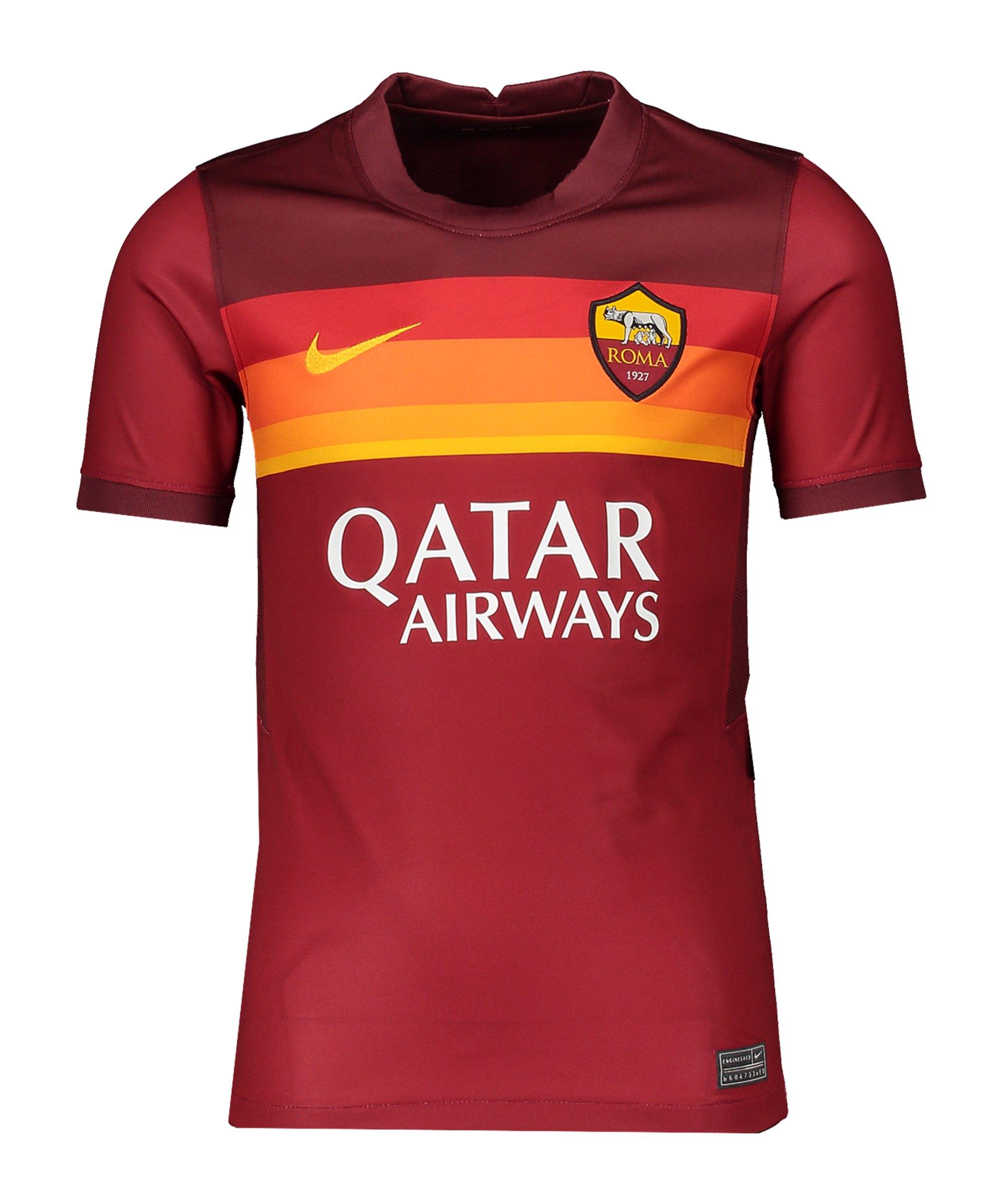 Nike AS Rom Trikot Home 2020/2021 Kids F614 - rot