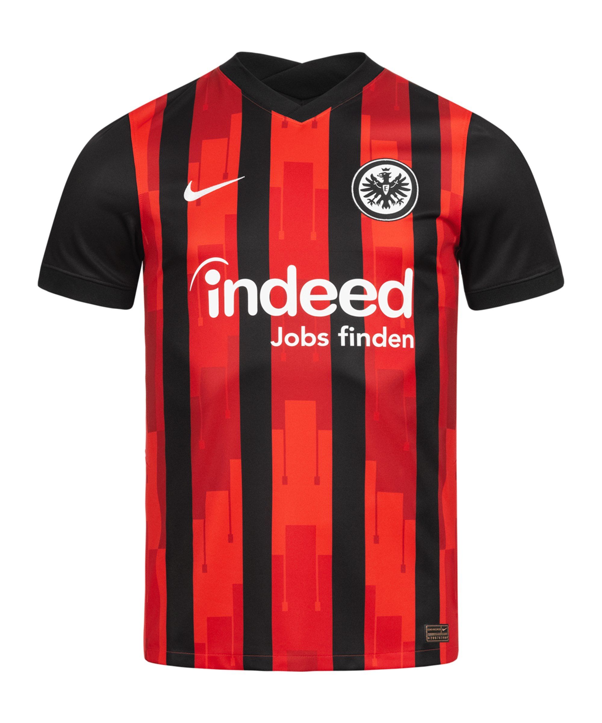 Nike Eintracht Frankfurt Trikot Home 2020/2021 Kids Schwarz F011 - schwarz