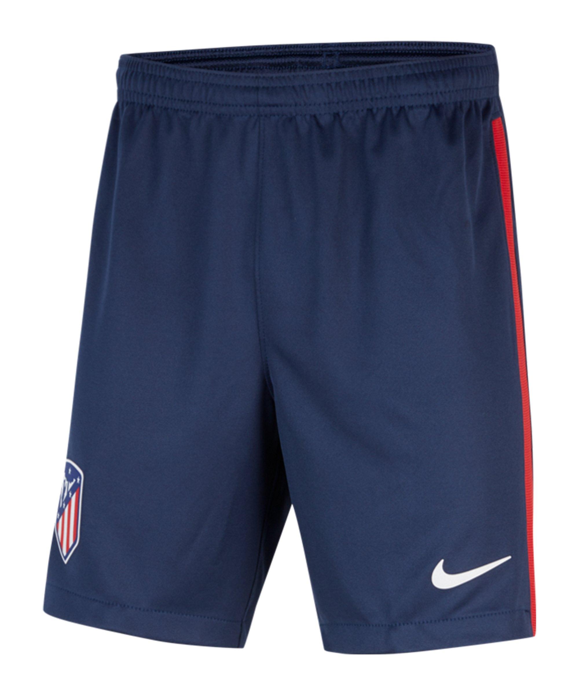 Nike Atletico Madrid Short Home Away 2020/2021 Kids F410 - blau