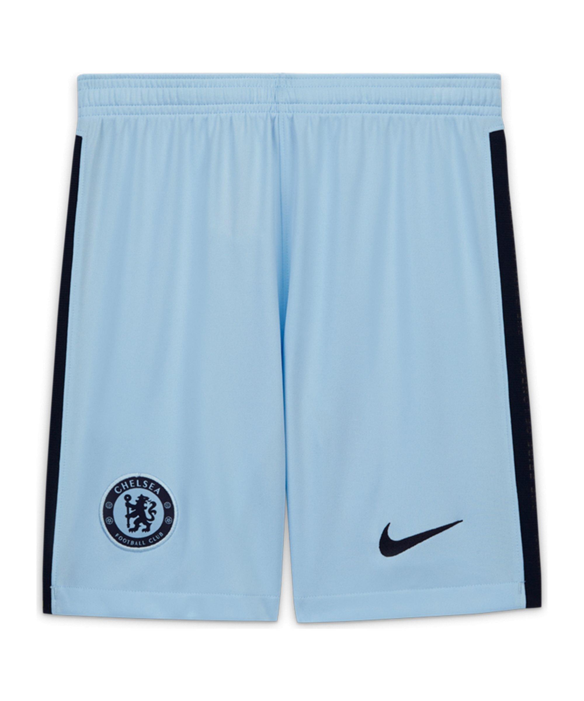 Nike FC Chelsea London Short Away 2020/2021 Kids Blau F494 - blau