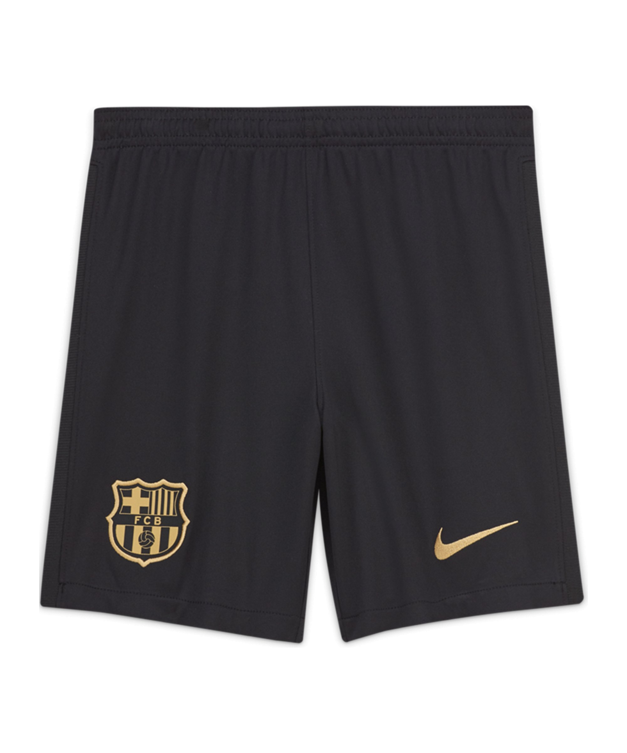 Nike FC Barcelona Short Home Away 2020/2021 Kids Schwarz F010 - schwarz