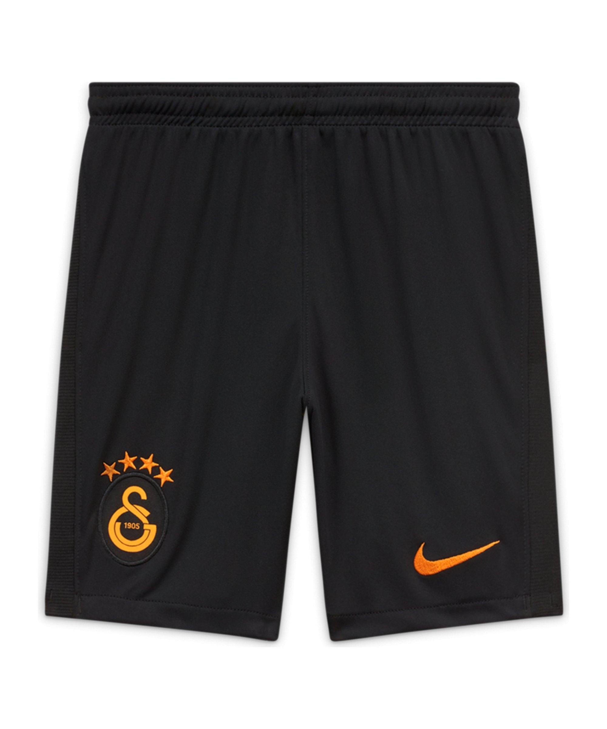Nike Galatasaray Istanbul Short Away 2020/2021 Kids Schwarz F010 - schwarz