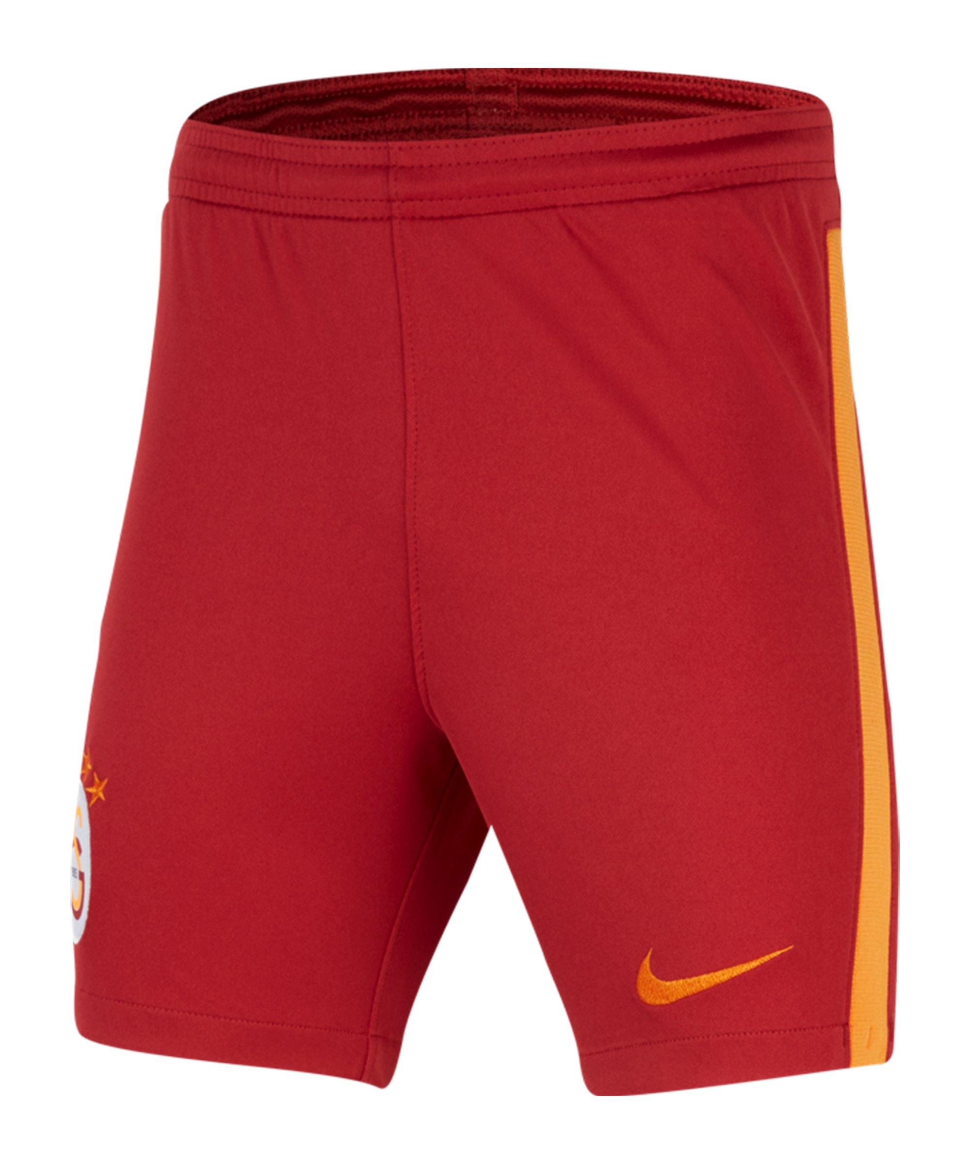 Nike Galatasaray Istanbul Short Home Away 2020/2021 Kids - rot