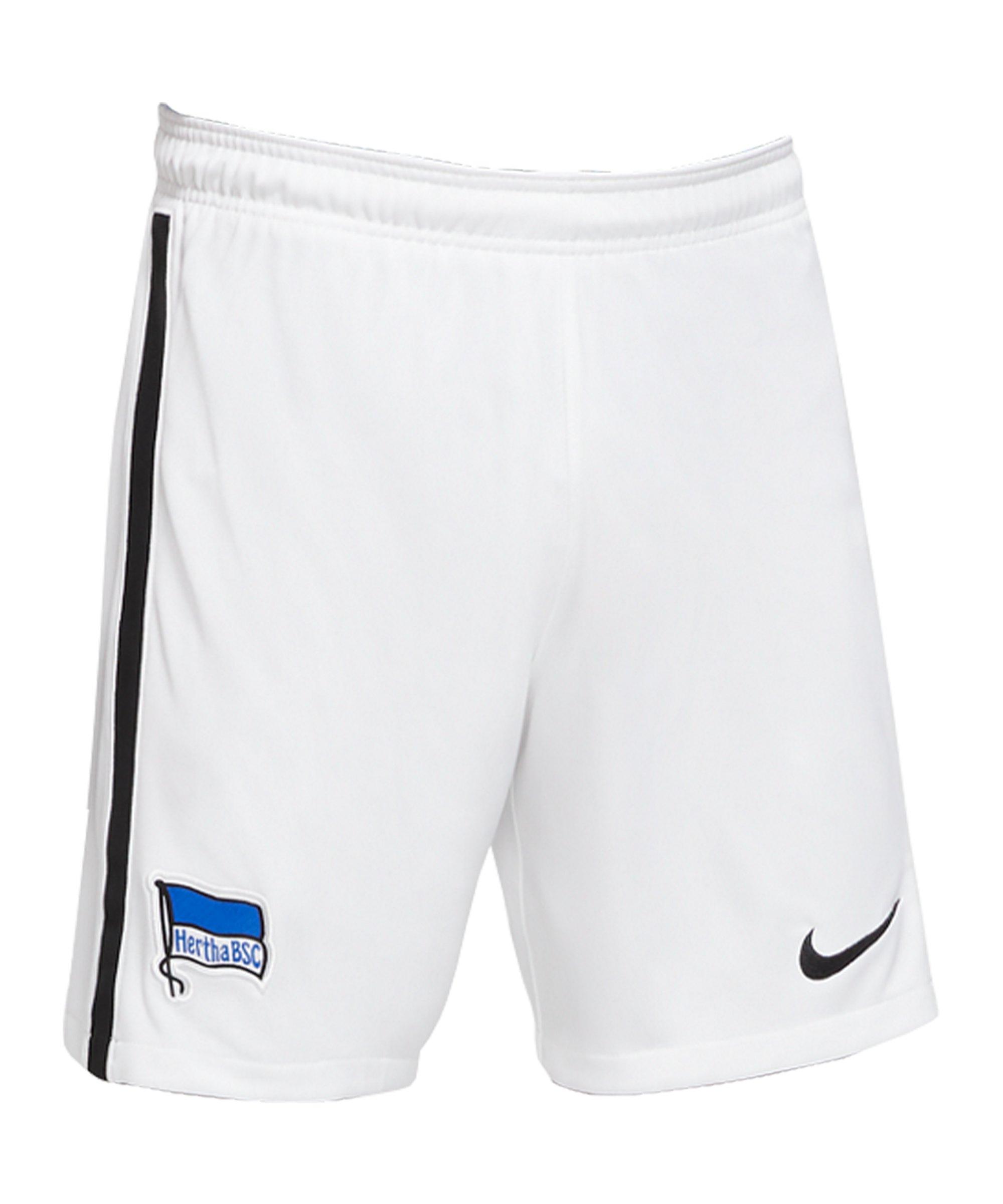 Nike Hertha BSC Berlin Short Home 2020/2021 Kids Weiss F100 - weiss