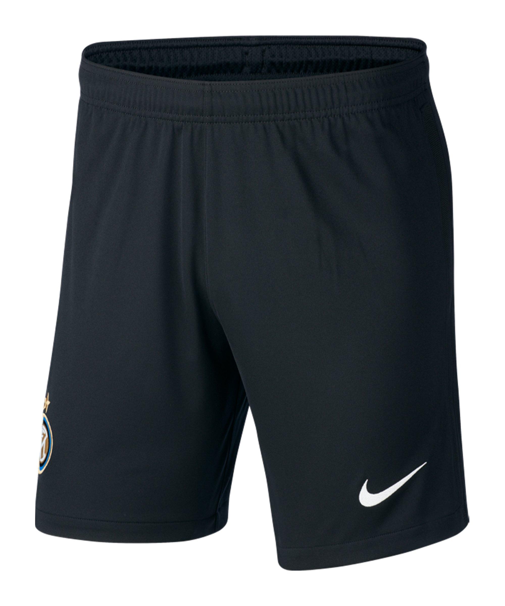 Nike Inter Mailand Short Home 2020/2021 Kids Schwarz F010 - schwarz