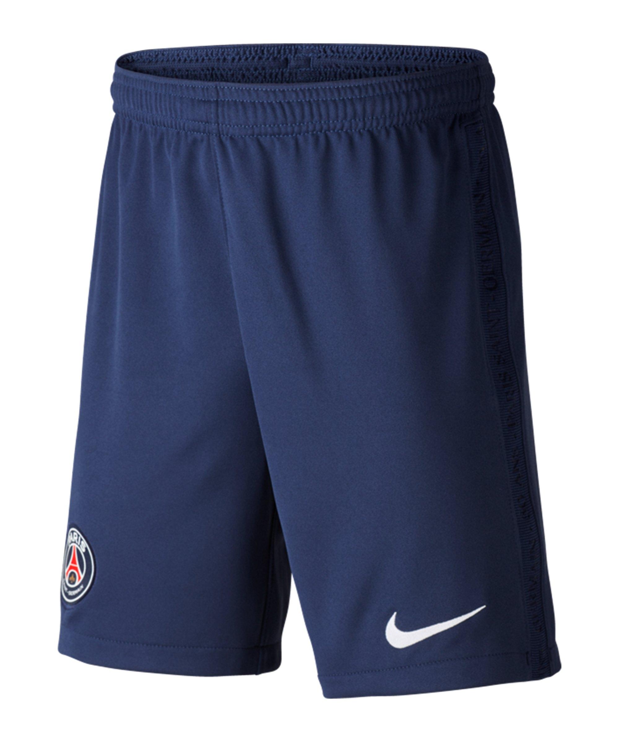 Nike Paris St. Germain Short Home 2020/2021 Kids F410 - blau