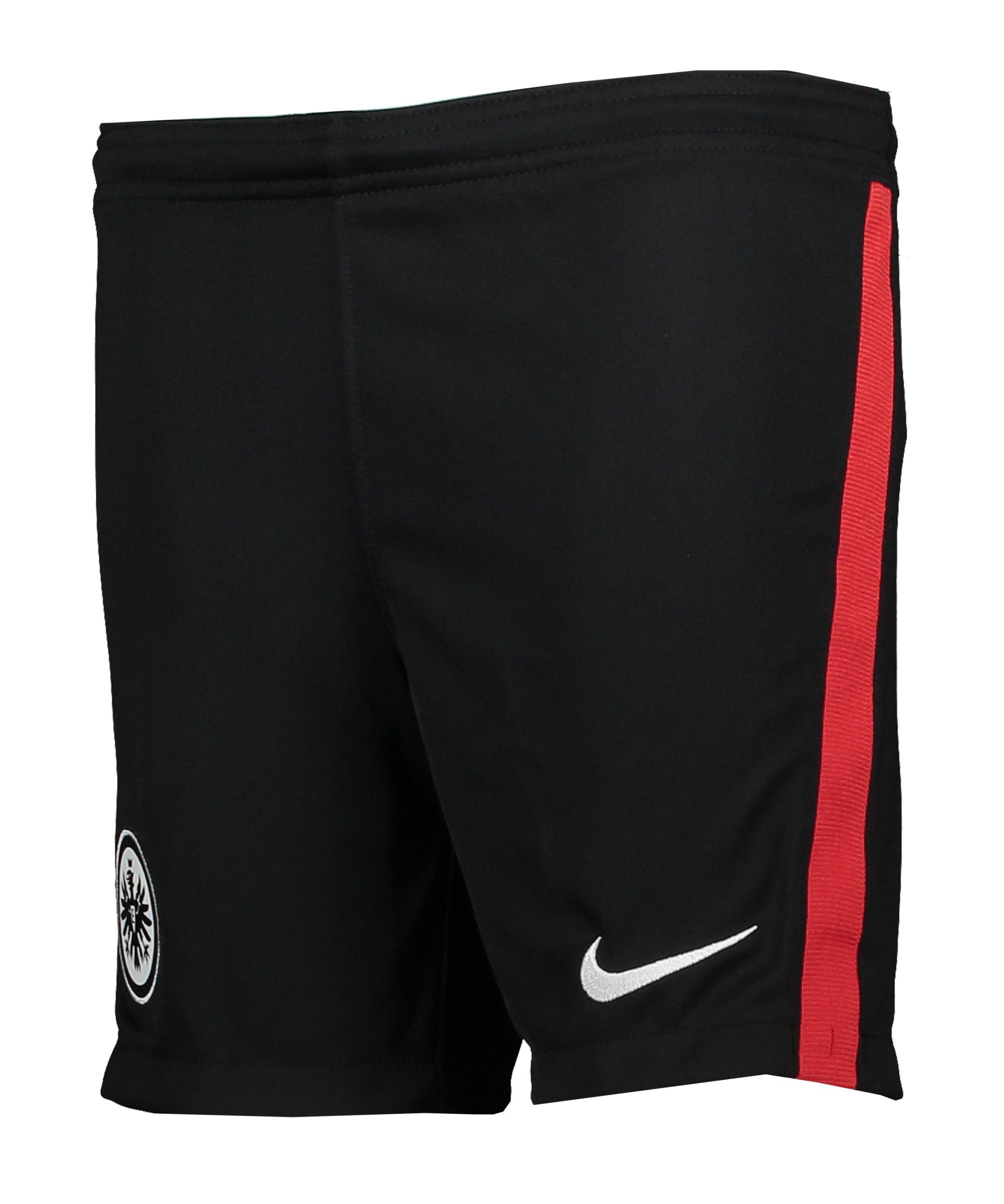 Nike Eintracht Frankfurt Short Home 2020/2021 Kids Schwarz F010 - schwarz