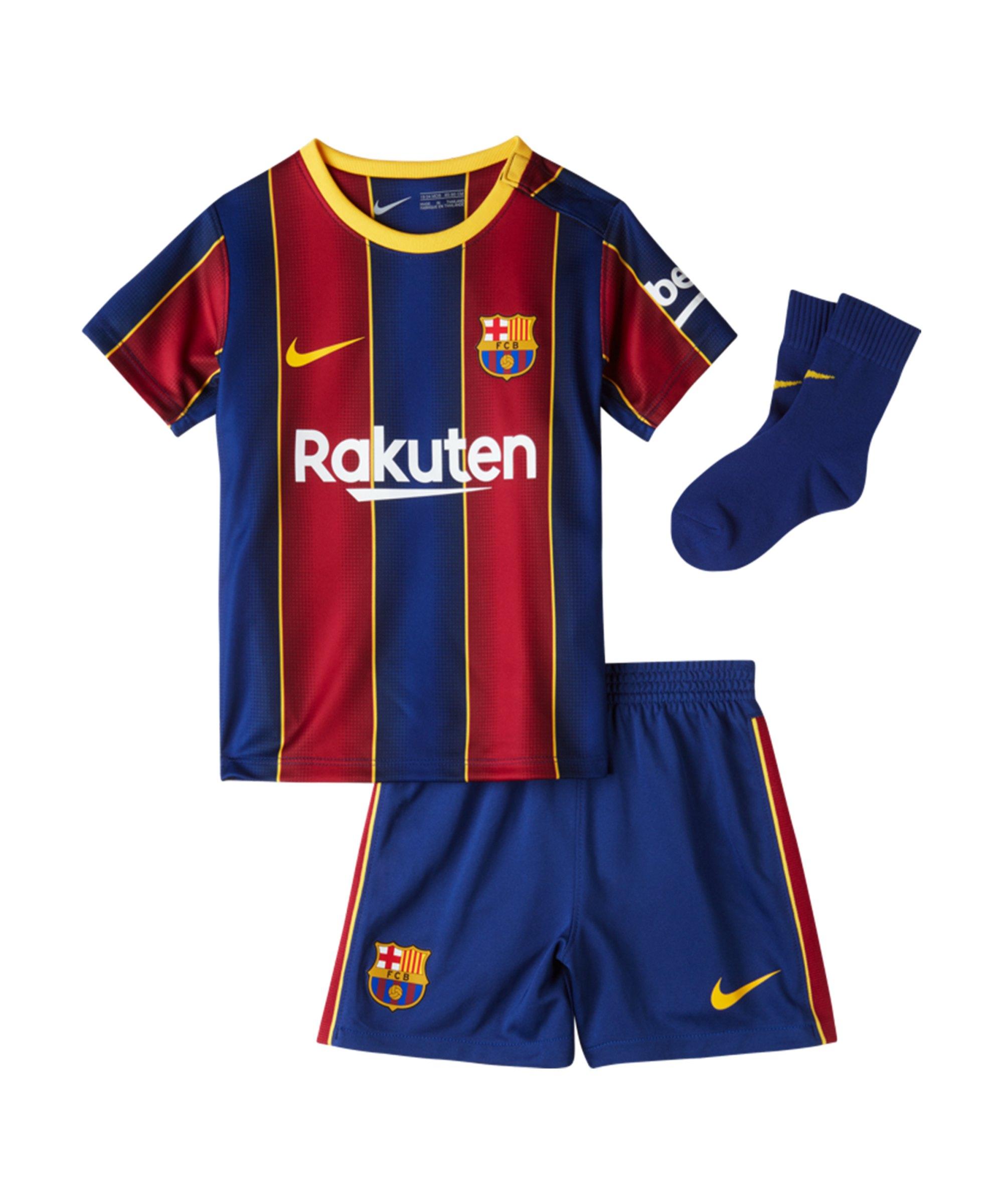 Nike FC Barcelona Baby Kit Home 2020/2021 F456 - blau
