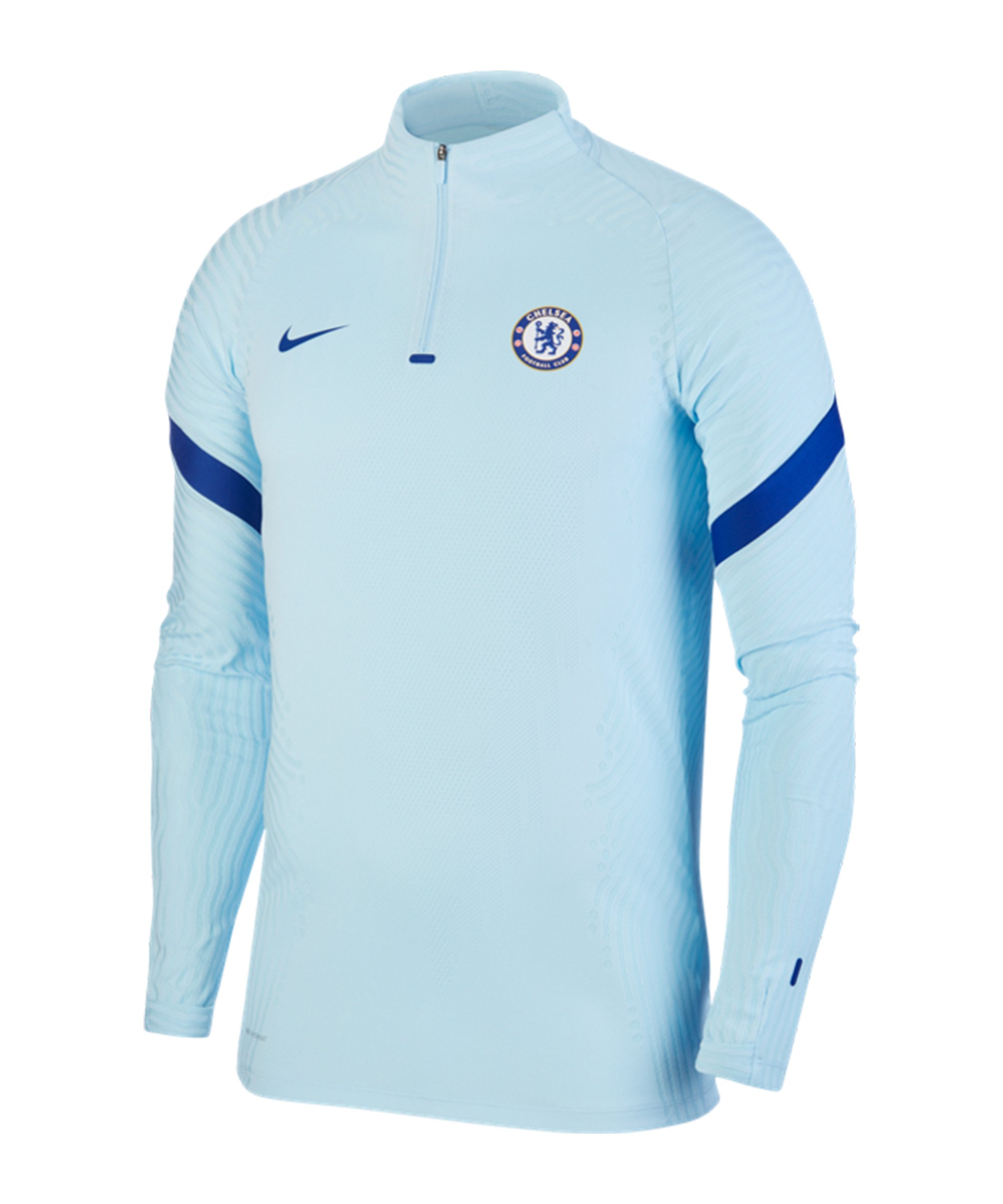 Nike FC Chelsea London Vaporknit 1/4 Zip Top F495 - blau