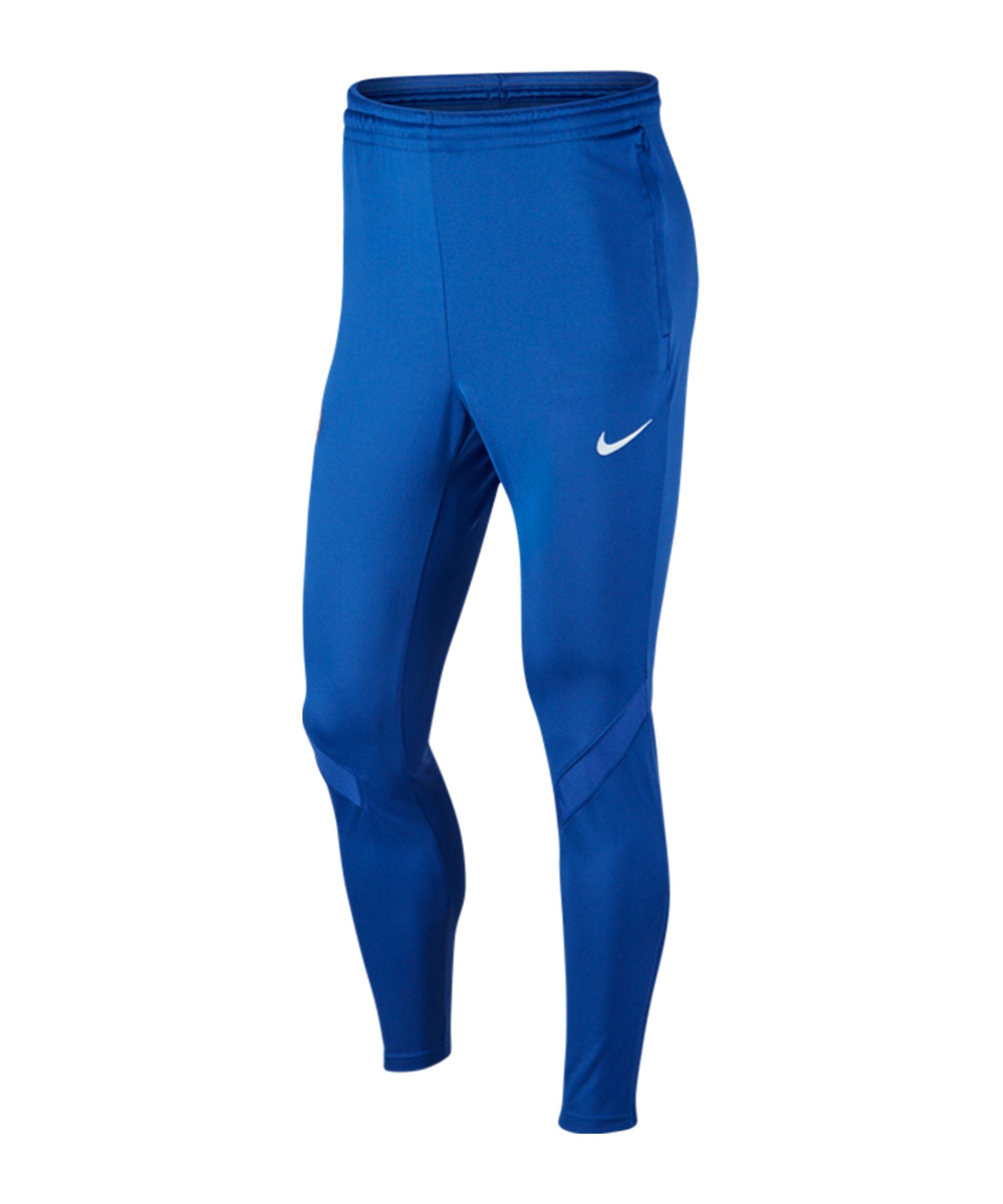 Nike FC Chelsea London Trainingshose Blau F495 - blau