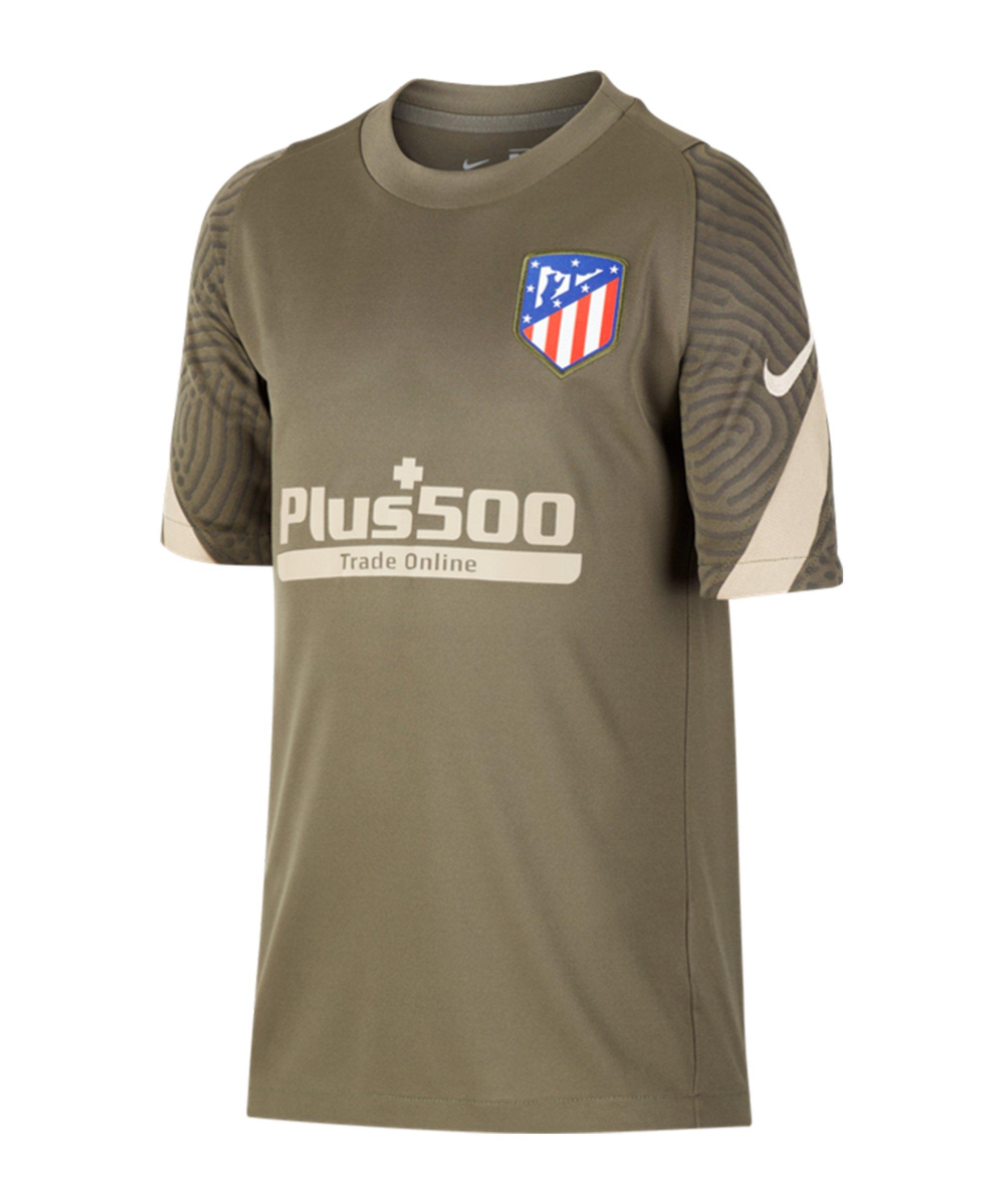 Nike Atletico Madrid Strike Top Kids Grün F326 - gruen