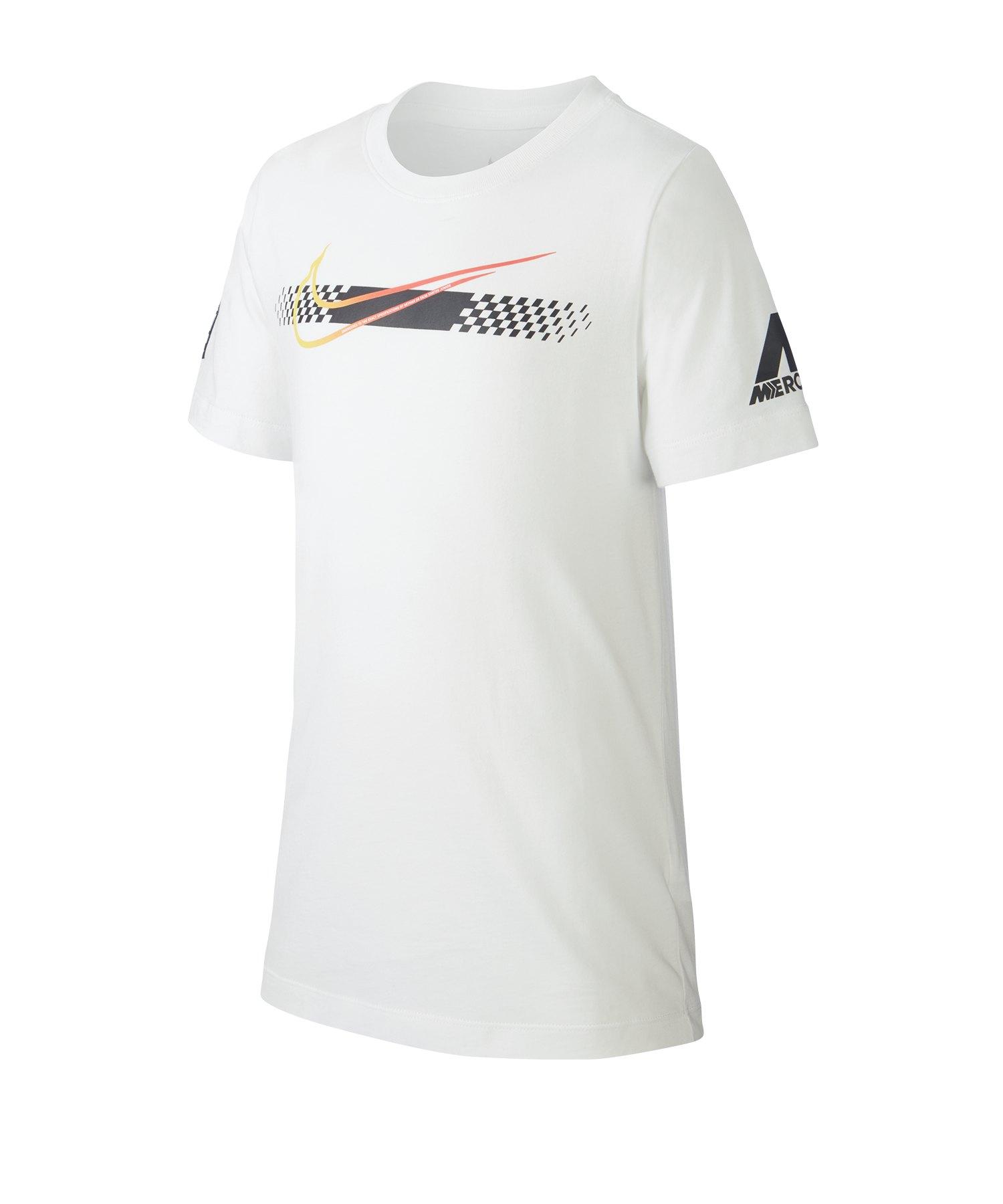 Nike Neymar Jr. Mercurial T-Shirt Kids F100 - weiss