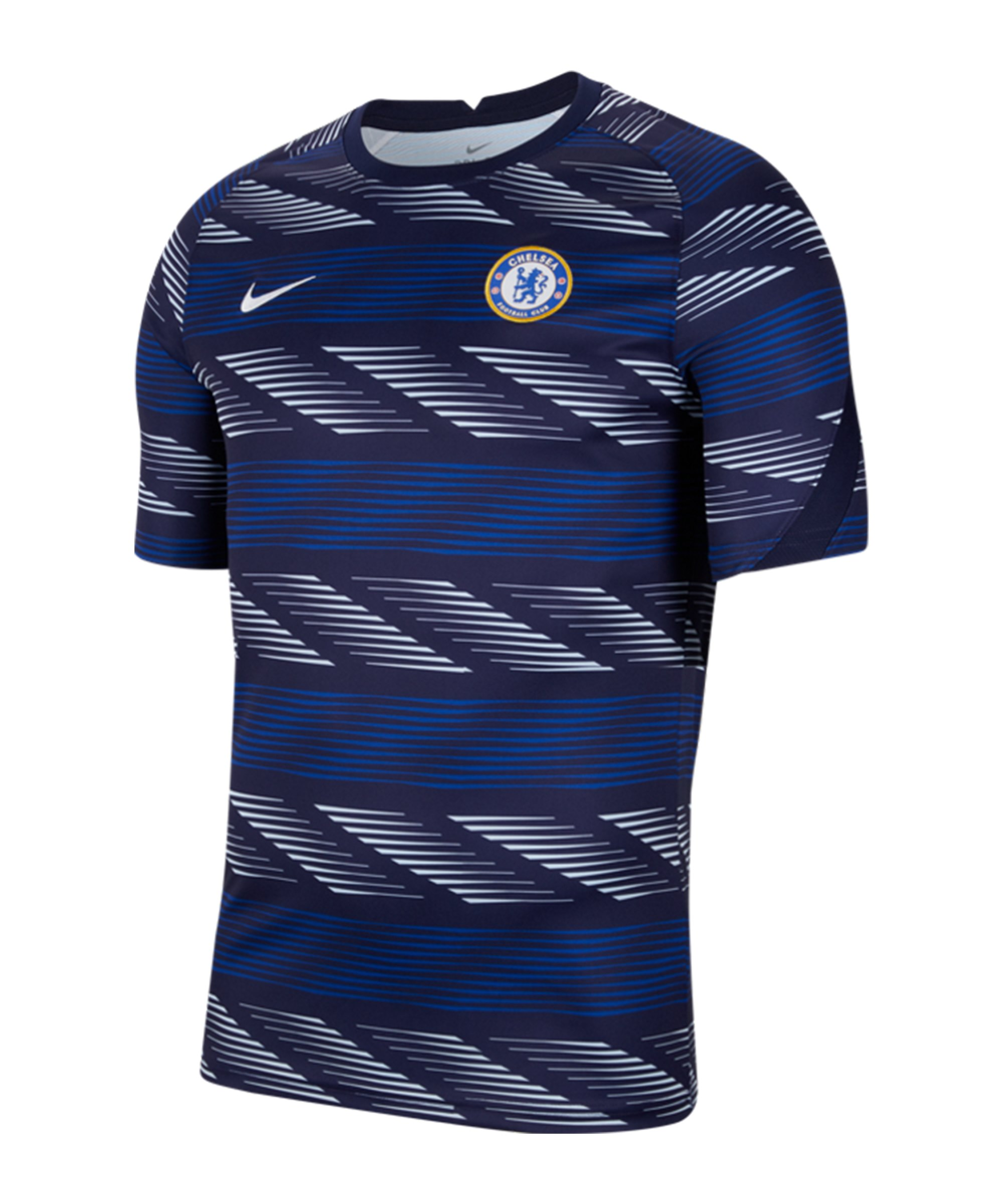 Nike FC Chelsea London T-Shirt Top Blau F495 - blau