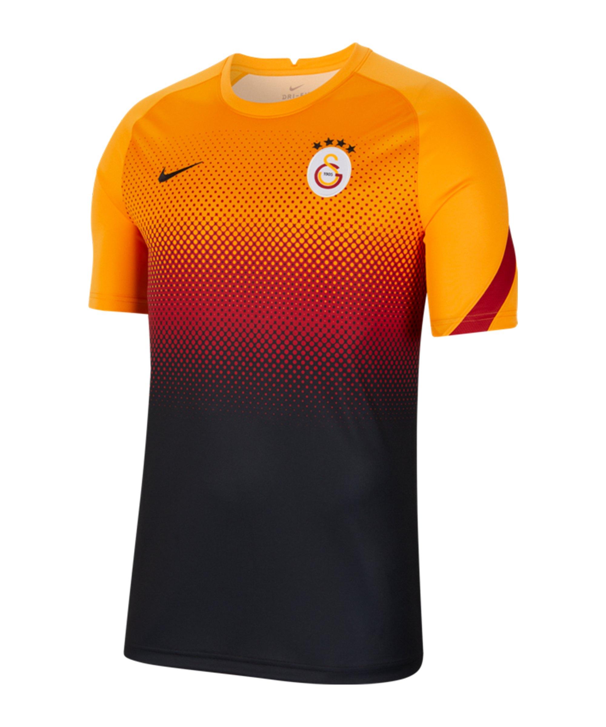 Nike Galatasaray Istanbul T-Shirt Orange F836 - orange