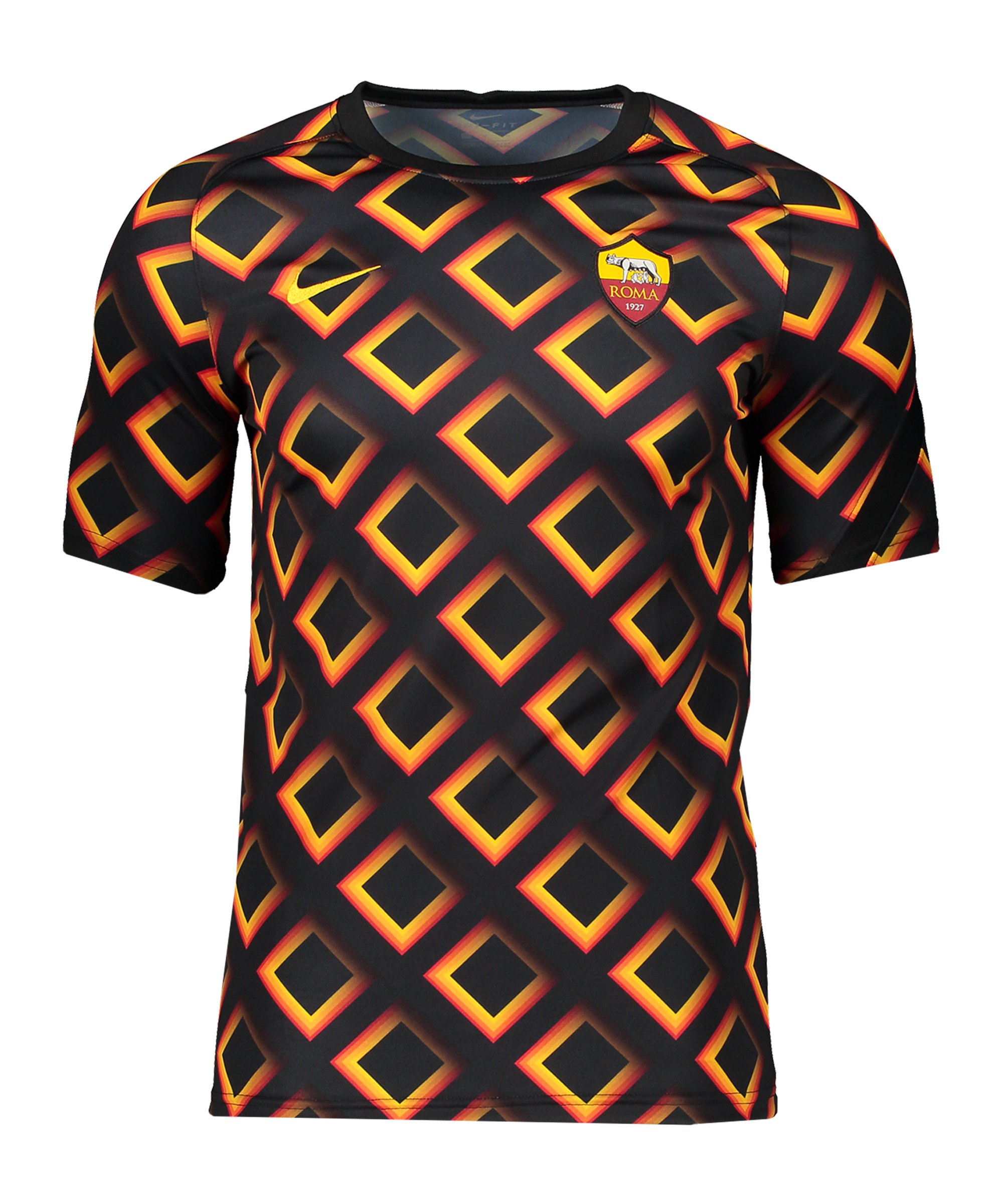 Nike AS Rom Top T-Shirt Kids Schwarz F010 - schwarz