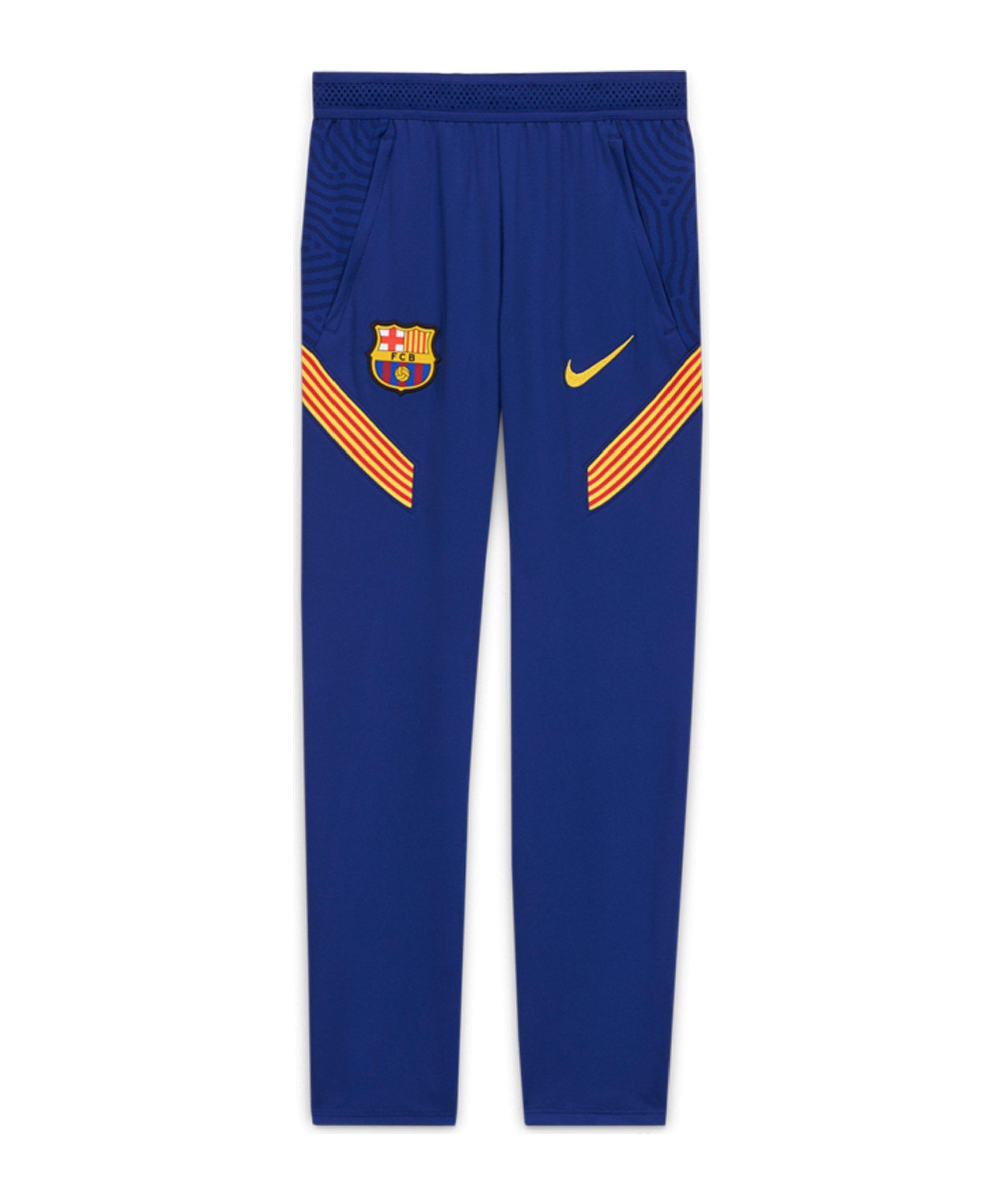 Nike FC Barcelona Dry Strike Pant Hose Kids F455 - blau