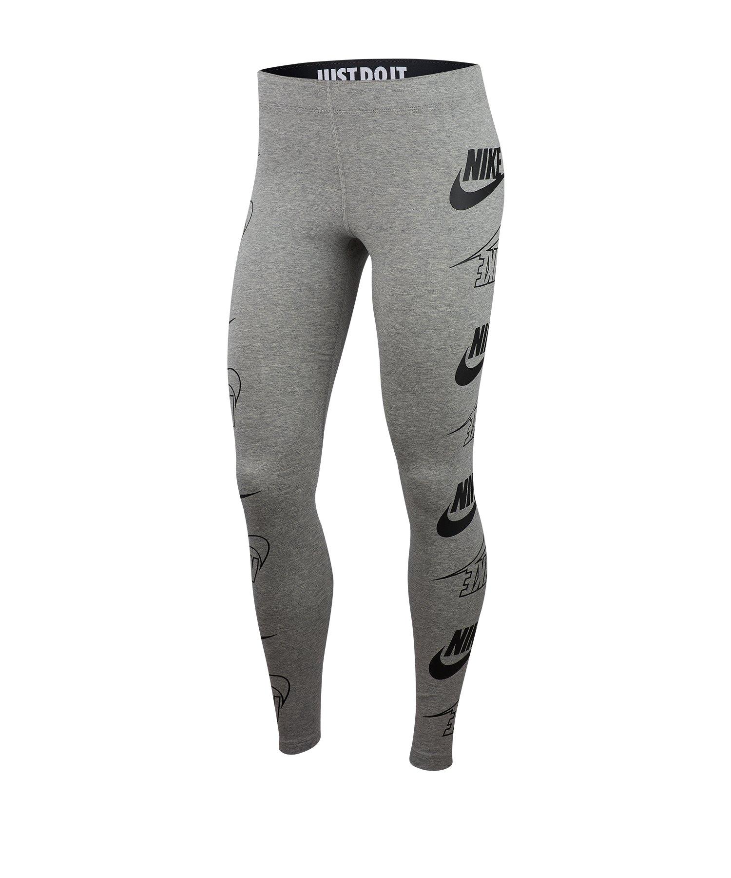 Nike Leg-A-See Legging Damen Grau F064 - grau