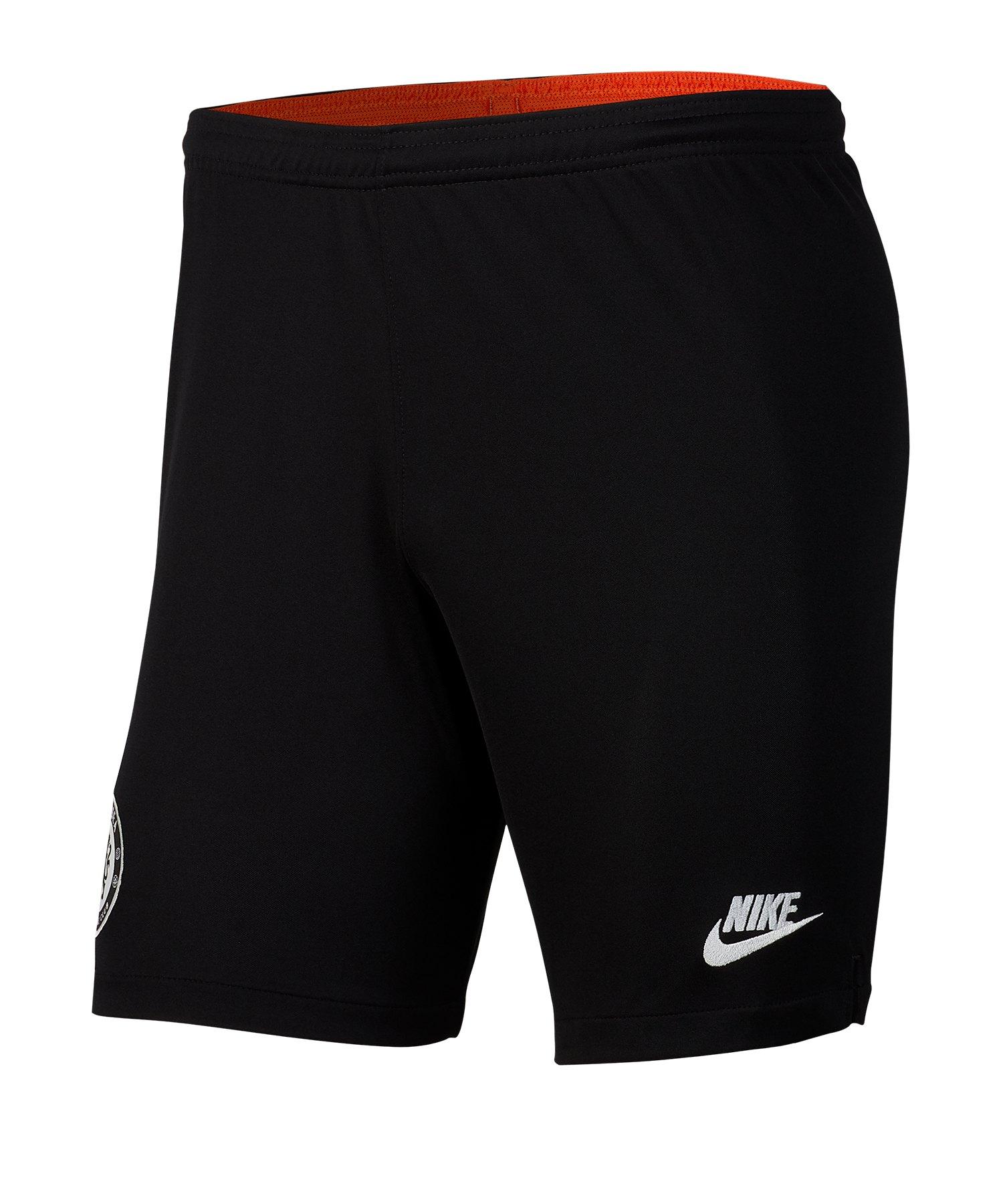 Nike FC Chelsea London Short UCL 2019/2020 F010 - schwarz