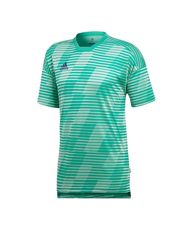 adidas Tango Eng T-Shirt Weiss Grün - weiss