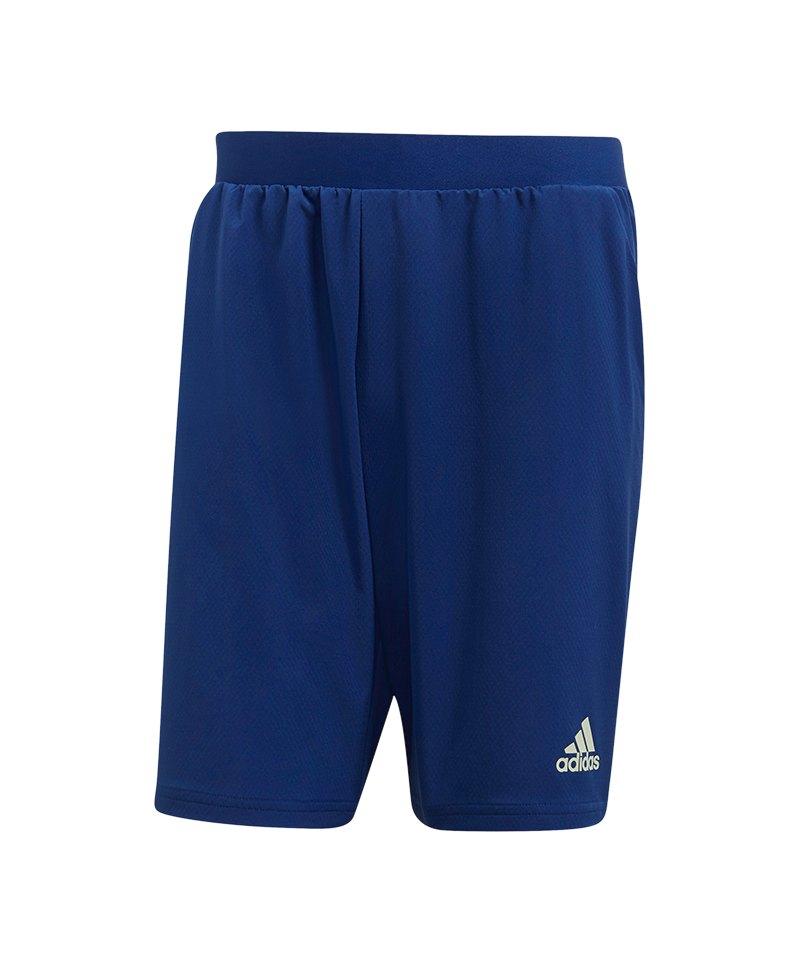 adidas Tango Training Short Hose kurz Blau - blau