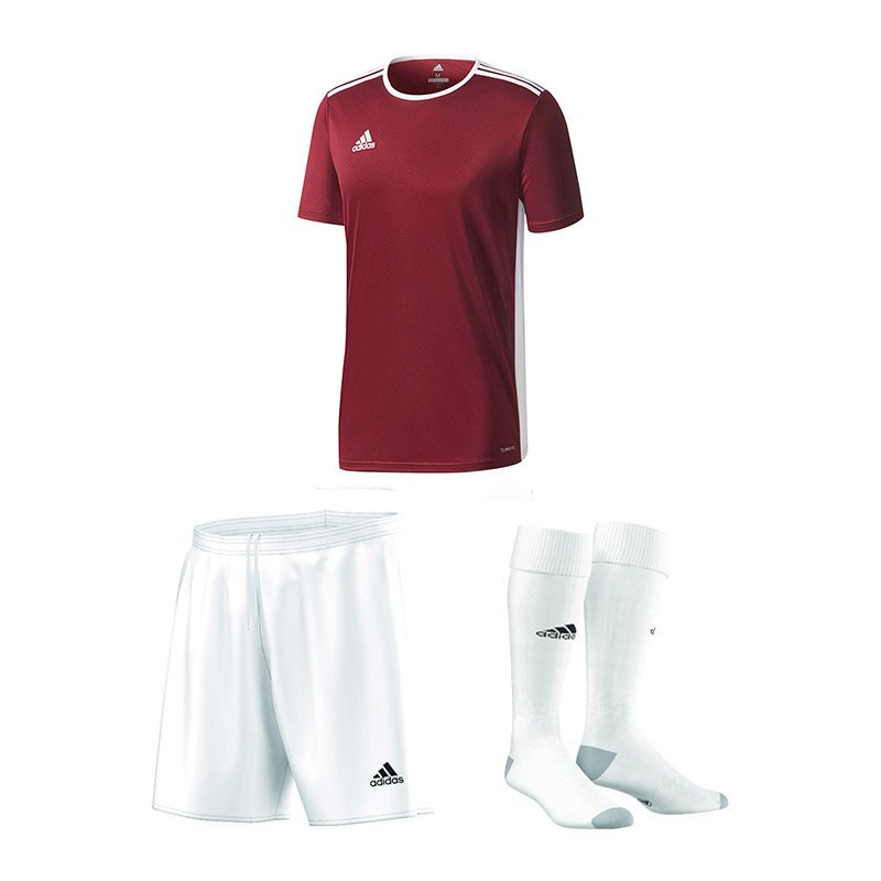 Kinder Fußballshorts adidas Performance Rot Russland Fußball
