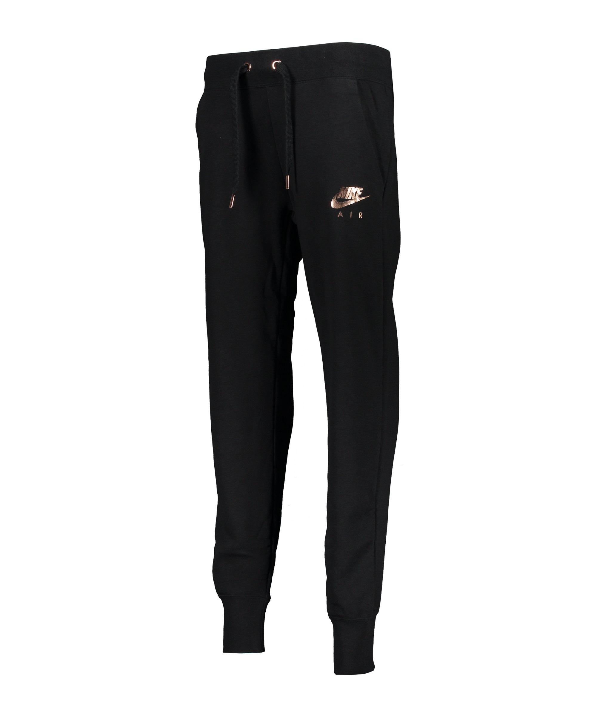 Nike Air Jogginghose Damen Schwarz F010 - schwarz
