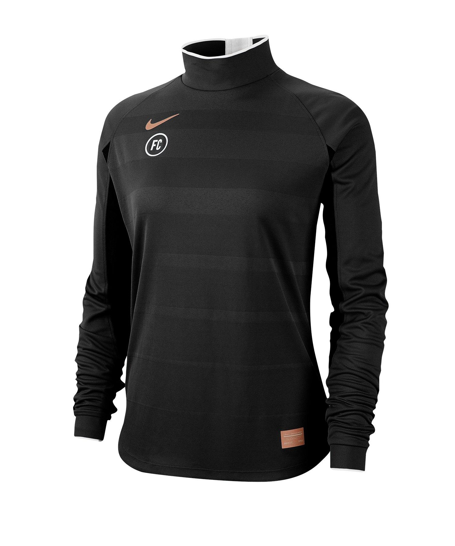 Nike F.C. Dri-FIT Trainingsweatshirt Damen F010 - schwarz
