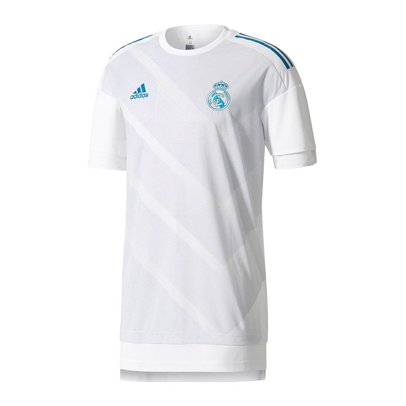 adidas Pre-Match Shirt Real Madrid Weiss - weiss