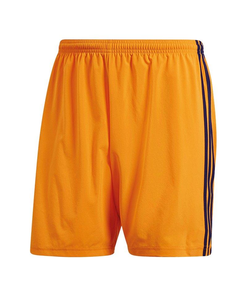 adidas Condivo 18 Short Hose kurz Kids Orange Blau - orange