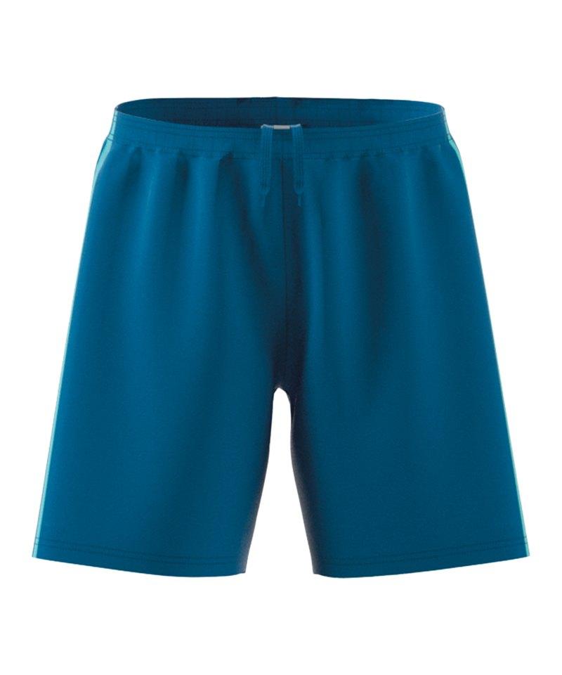 adidas Condivo 18 Short Hose kurz Blau - blau