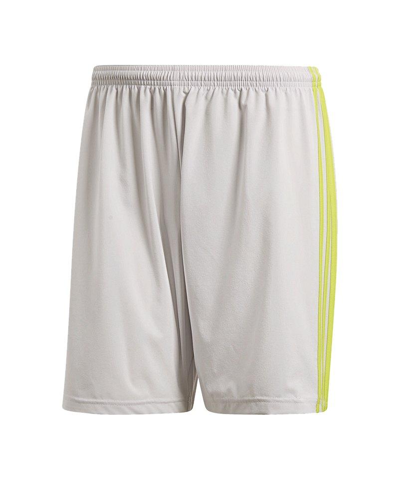 adidas Condivo 18 Short Hose kurz Kids Grau Gelb - grau
