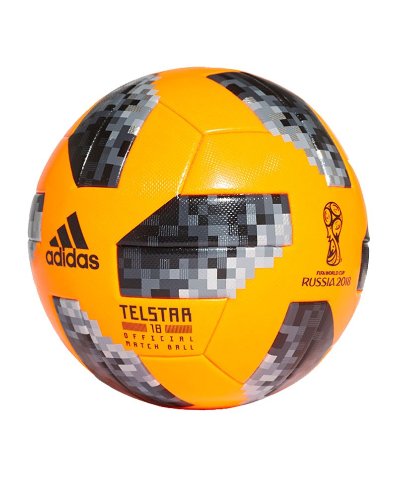 adidas Telstar Winterball Orange FIFA WM 2018 - orange