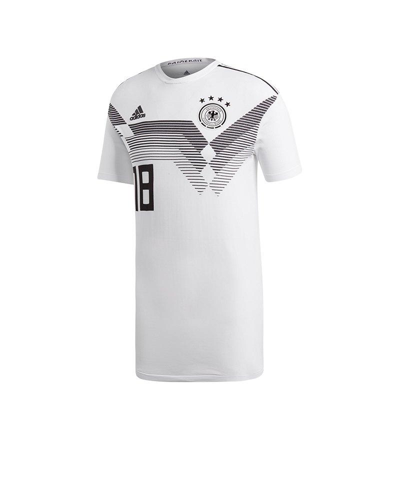 adidas DFB Deutschland Trikot Home Knit Weiss - weiss