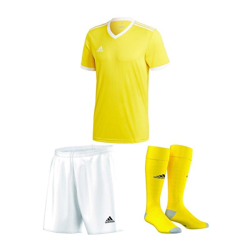 adidas Trikotset Tabela 18 Gelb Weiss - gelb