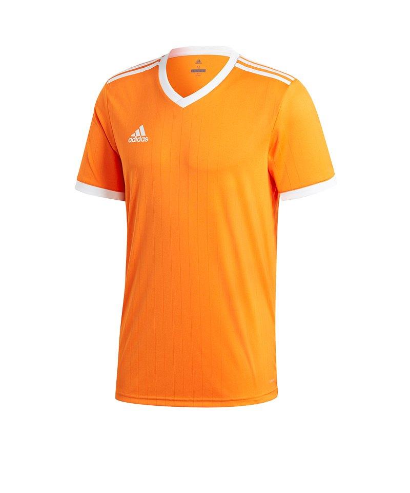 adidas Tabela 18 Trikot kurzarm Kids Orange Weiss - orange