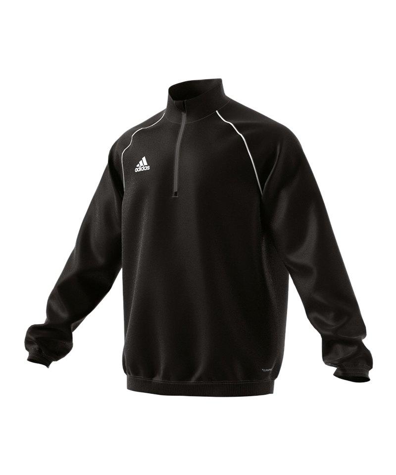 adidas Core 18 Windbreaker Jacket Jacke Schwarz - schwarz